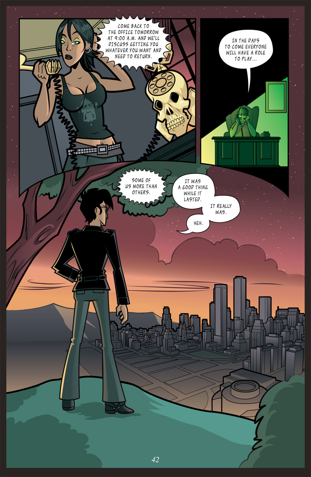 Read online Nightmare World comic -  Issue # Vol. 2 Leave the Light On - 43