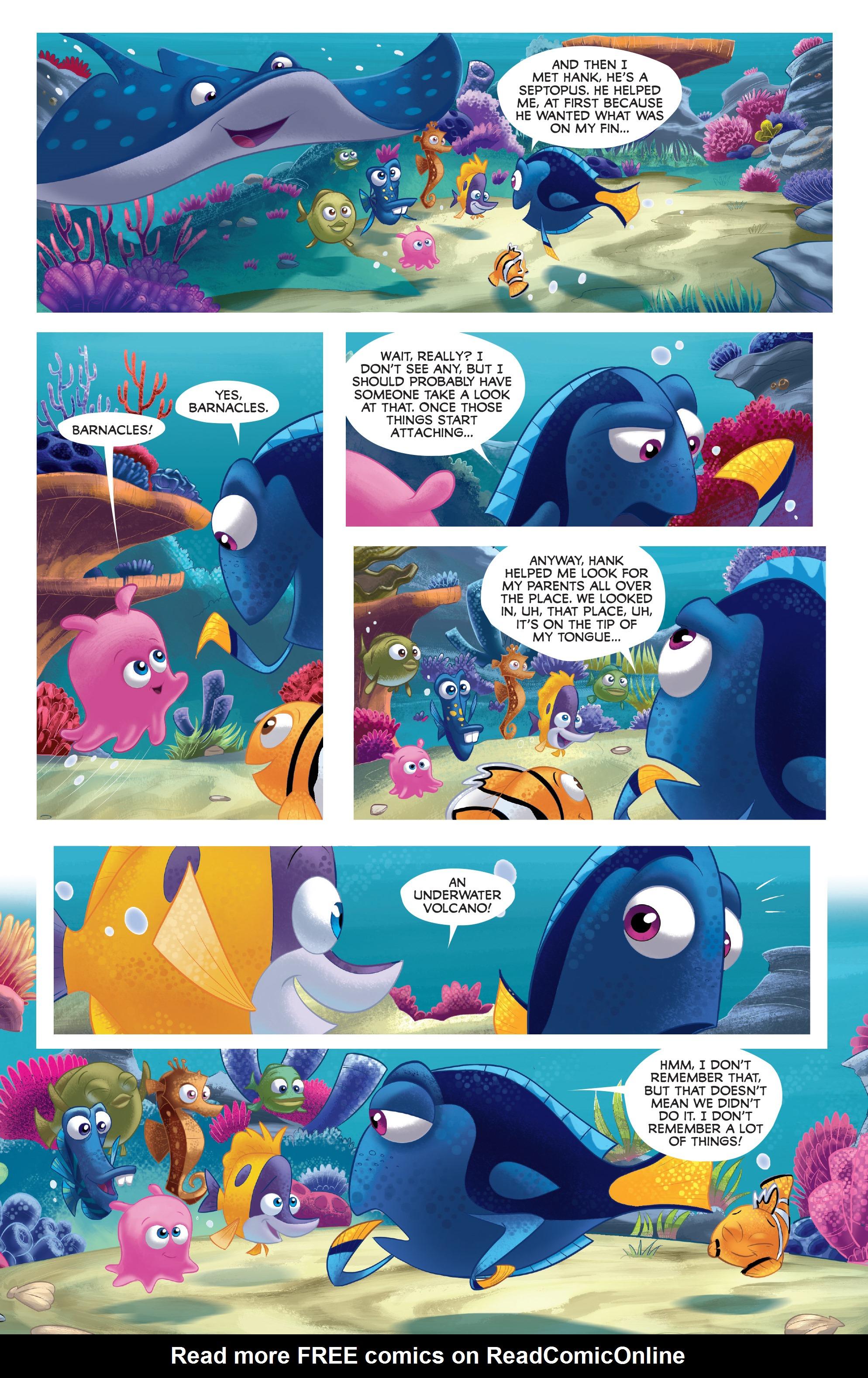 Read online Disney Pixar Finding Dory comic -  Issue #3 - 24
