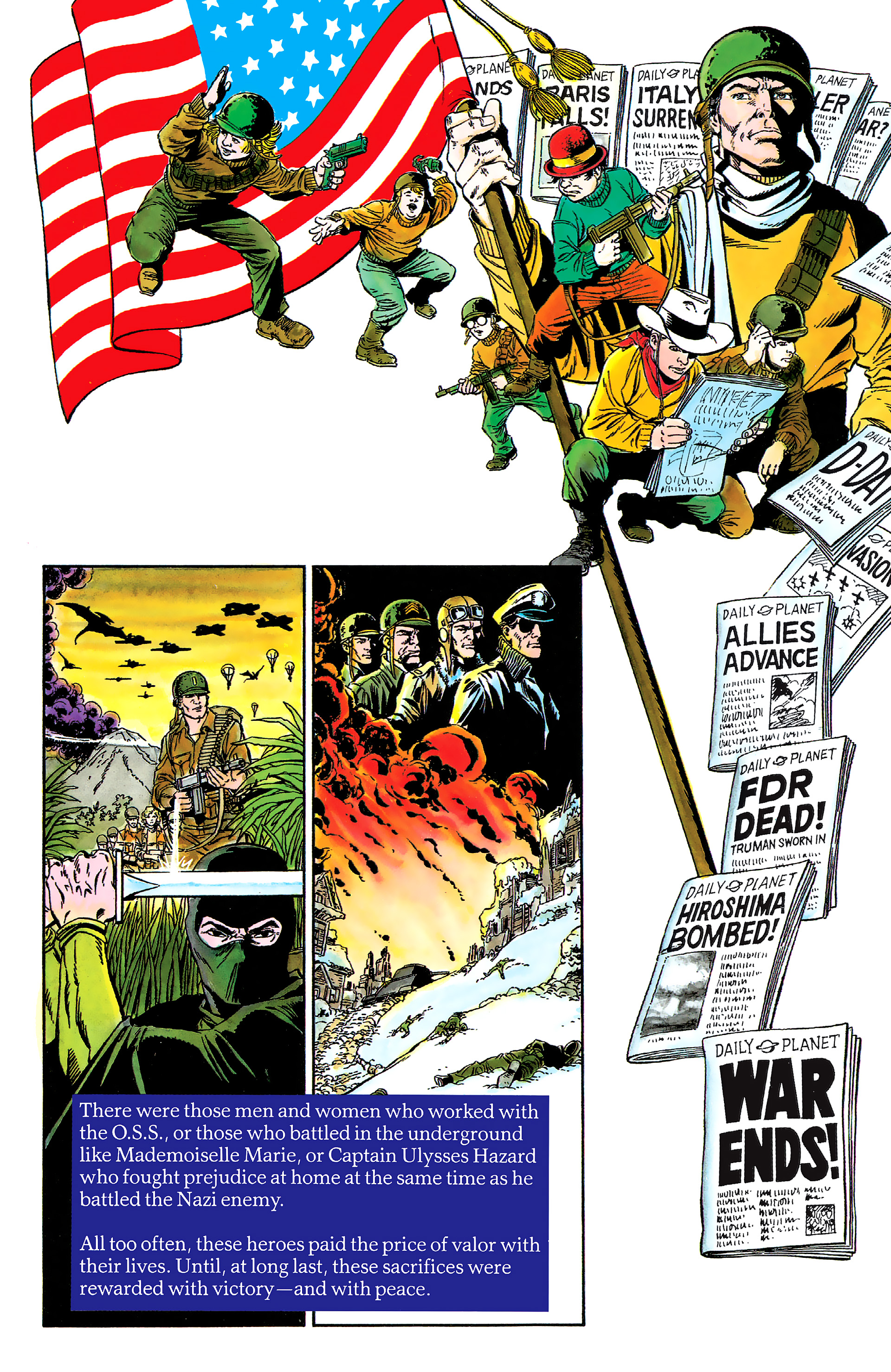 Read online History of the DC Universe comic -  Issue #2 - 8