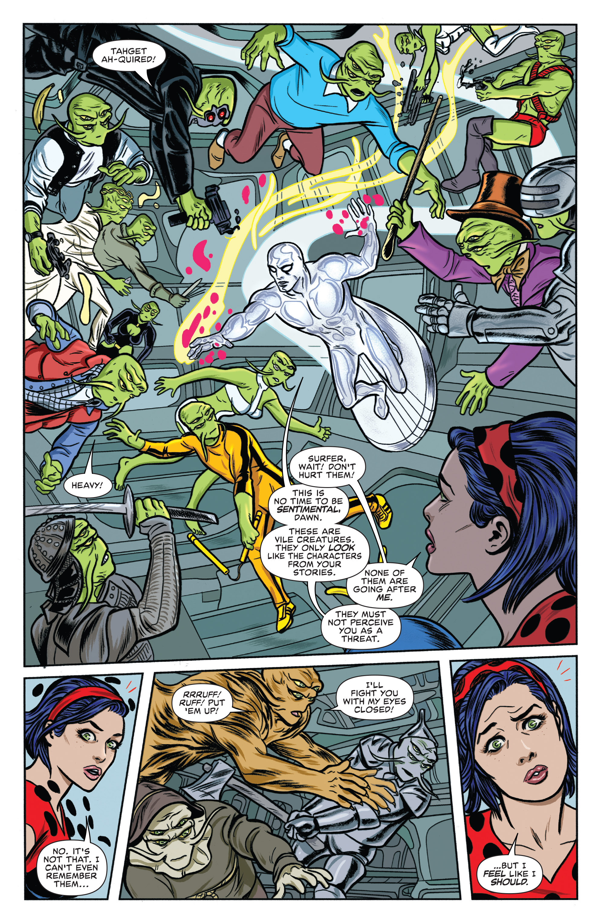 Read online Silver Surfer (2016) comic -  Issue #1 - 15