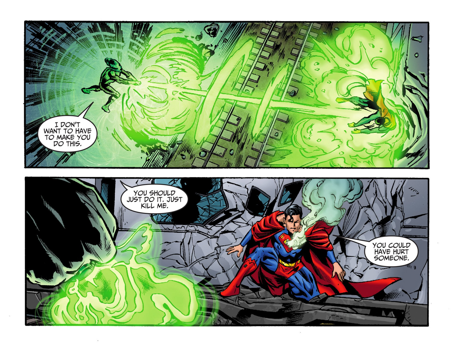 Read online Adventures of Superman [I] comic -  Issue #32 - 12