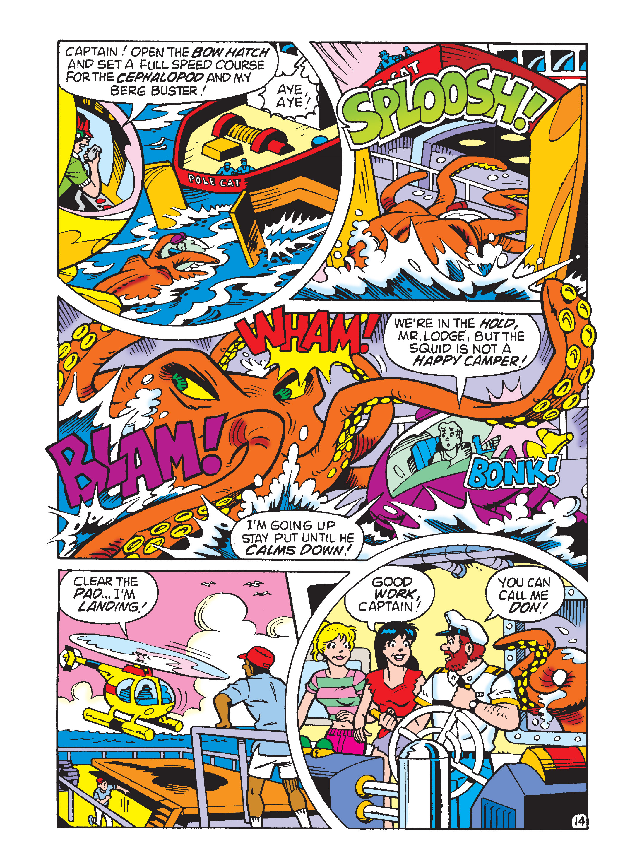 Read online Archie's Funhouse Double Digest comic -  Issue #2 - 108