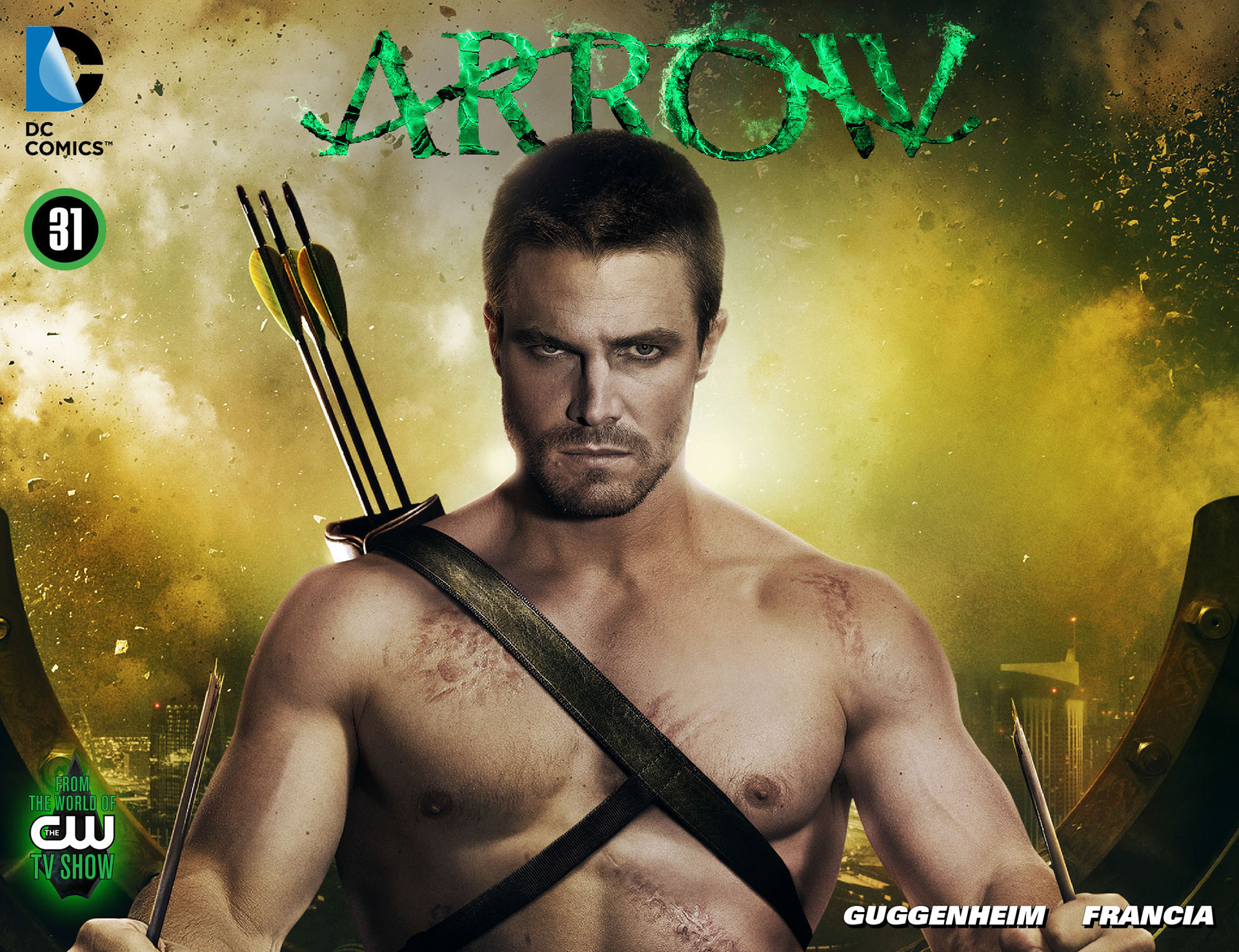 Read online Arrow [II] comic -  Issue #31 - 1