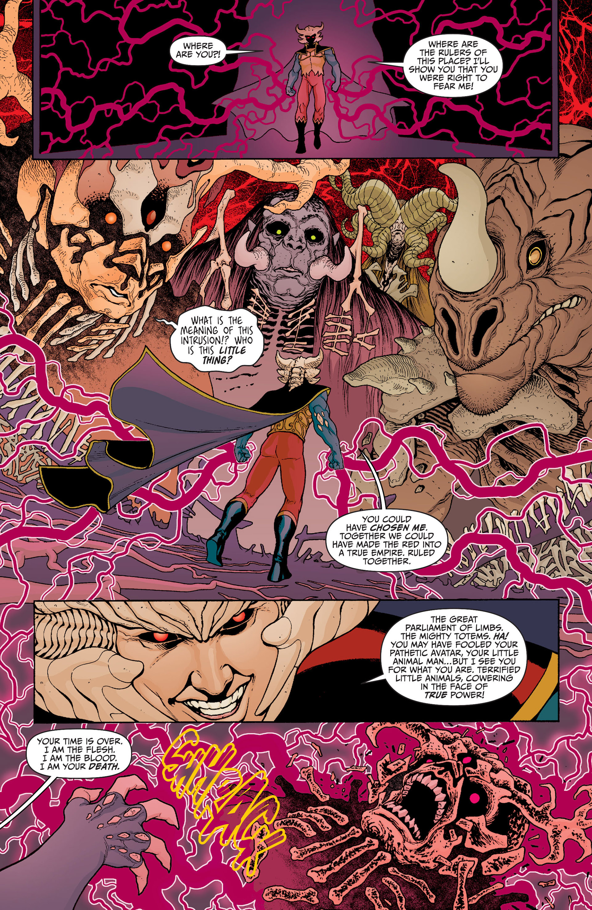 Read online Animal Man (2011) comic -  Issue #23 - 18