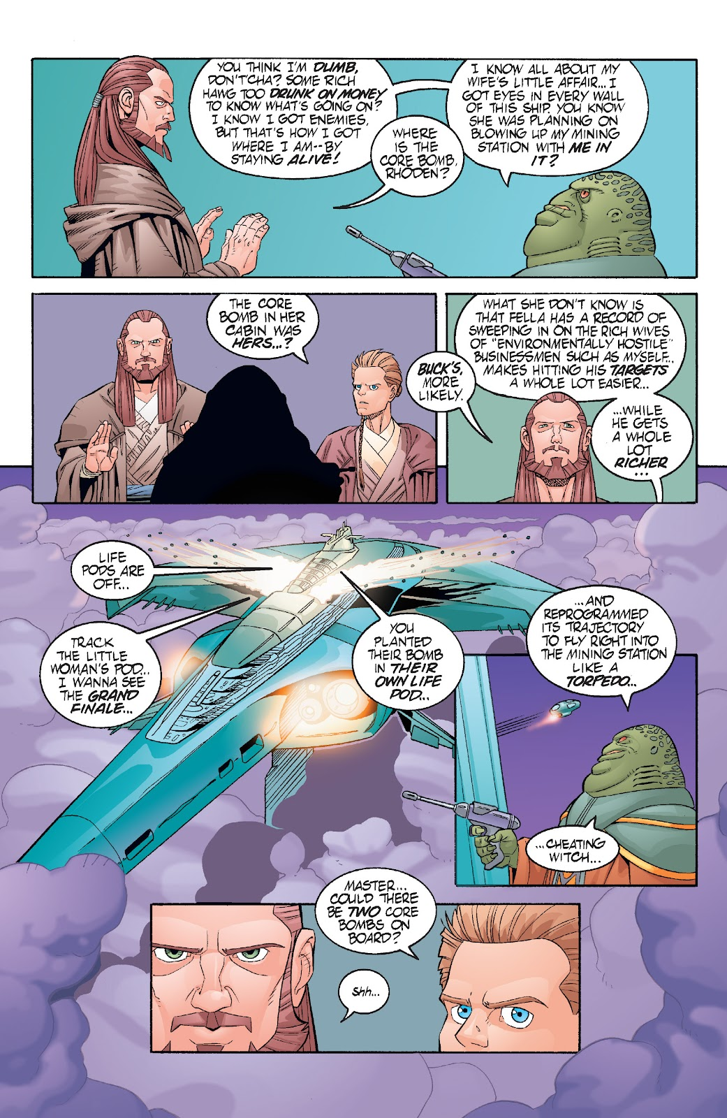 Read online Star Wars Legends: Rise of the Sith - Epic Collection comic -  Issue # TPB 1 (Part 3) - 64