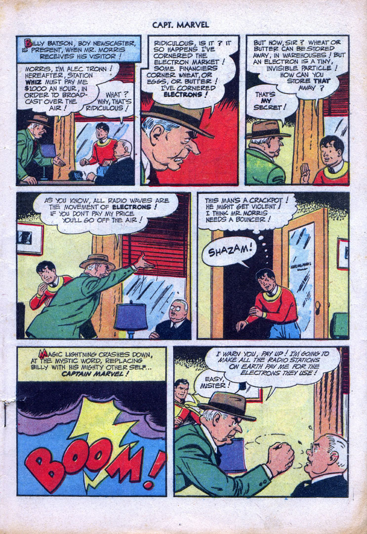 Captain Marvel Adventures issue 87 - Page 5