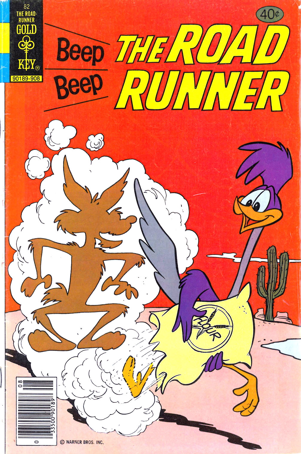 Beep Beep The Road Runner 82 Page 1