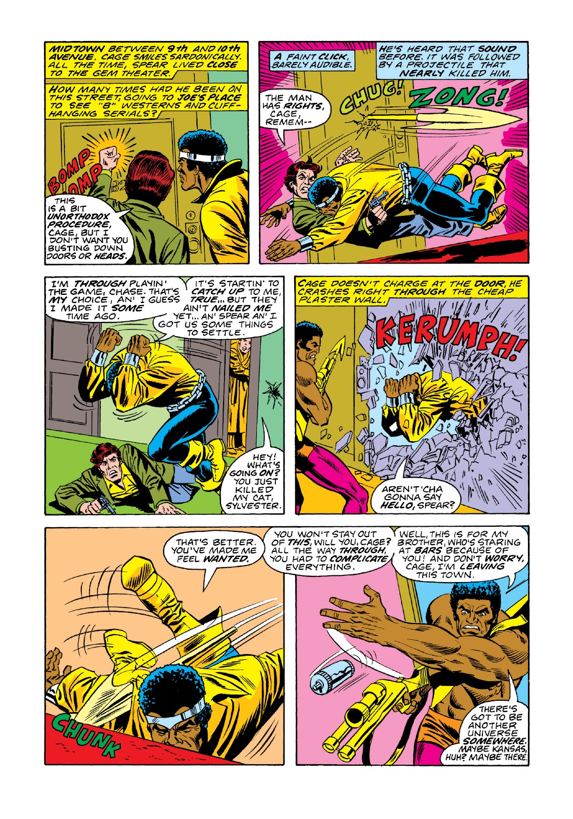 Read online Marvel Masterworks: Luke Cage, Power Man comic -  Issue # TPB 3 (Part 1) - 75