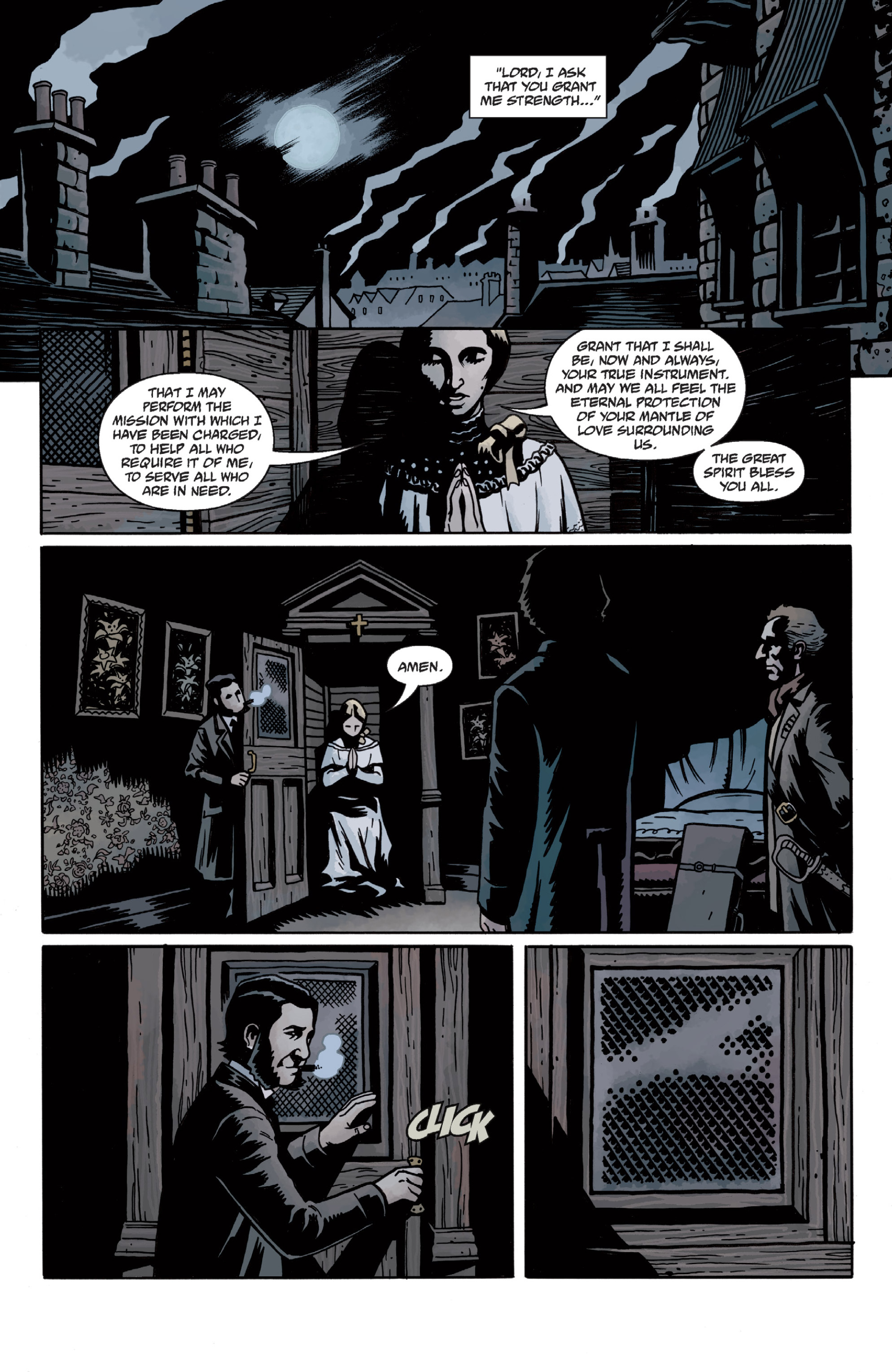 Read online Sir Edward Grey, Witchfinder: In the Service of Angels comic -  Issue # TPB - 43