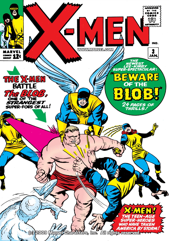 Uncanny X-Men (1963) 3 Page 1