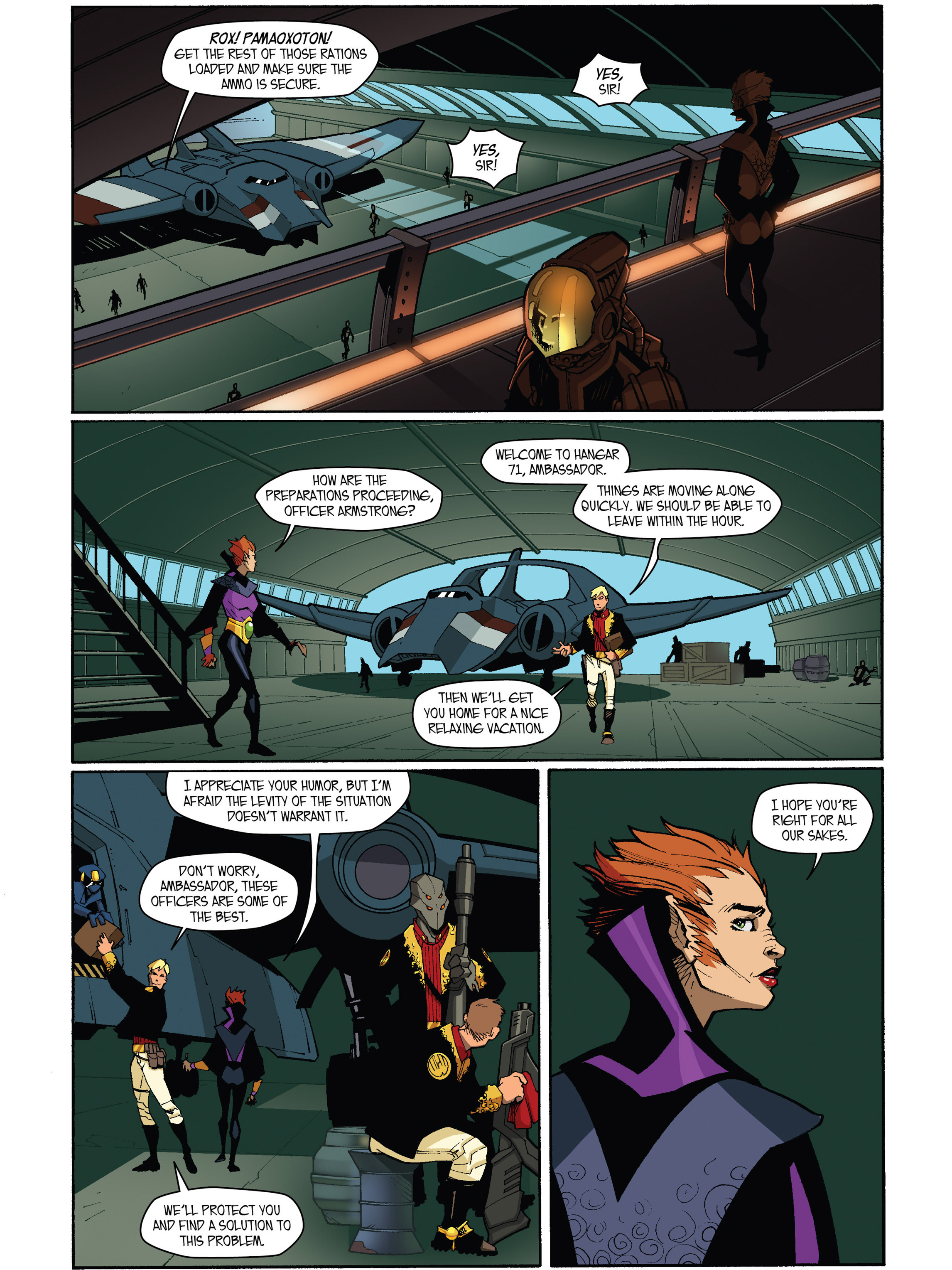 Read online Amber Atoms comic -  Issue #5 - 15