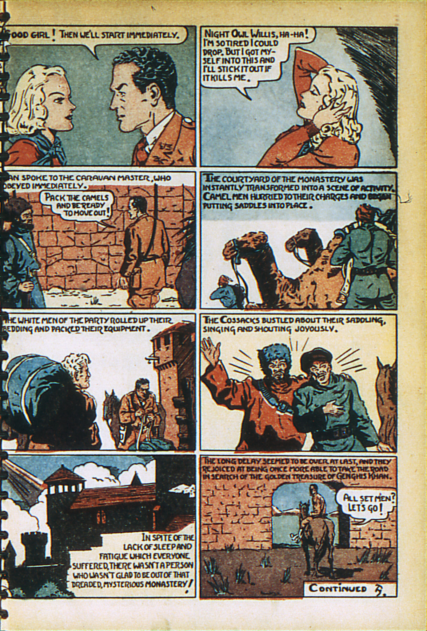 Read online Adventure Comics (1938) comic -  Issue #27 - 15