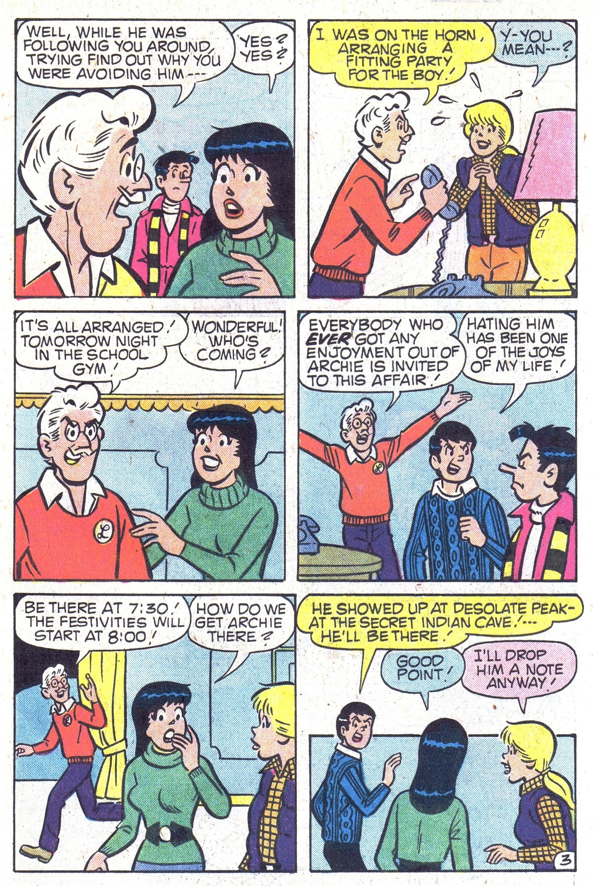Read online Archie (1960) comic -  Issue #300 - 31