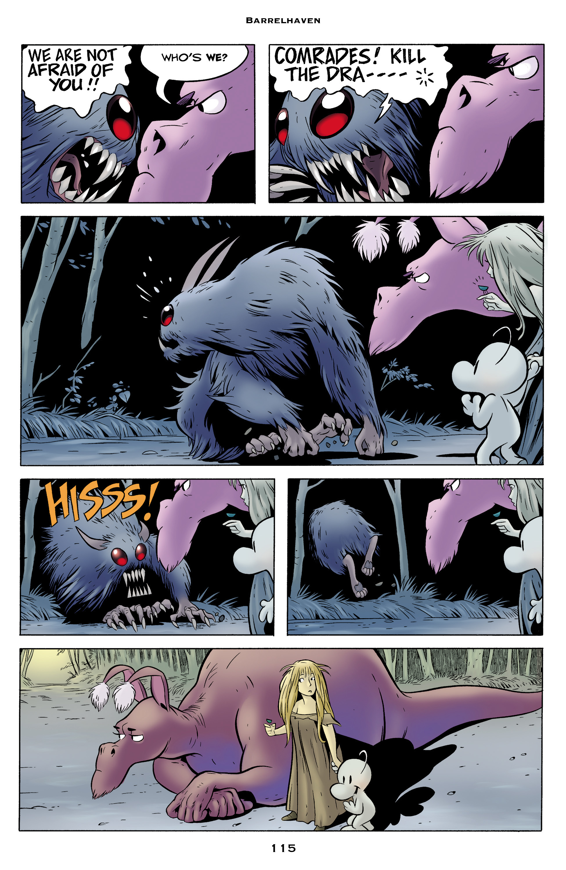 Read online Bone: Out From Boneville comic -  Issue # TPB - 115