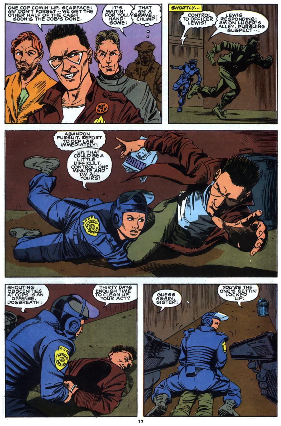 Read online Robocop (1990) comic -  Issue #2 - 14