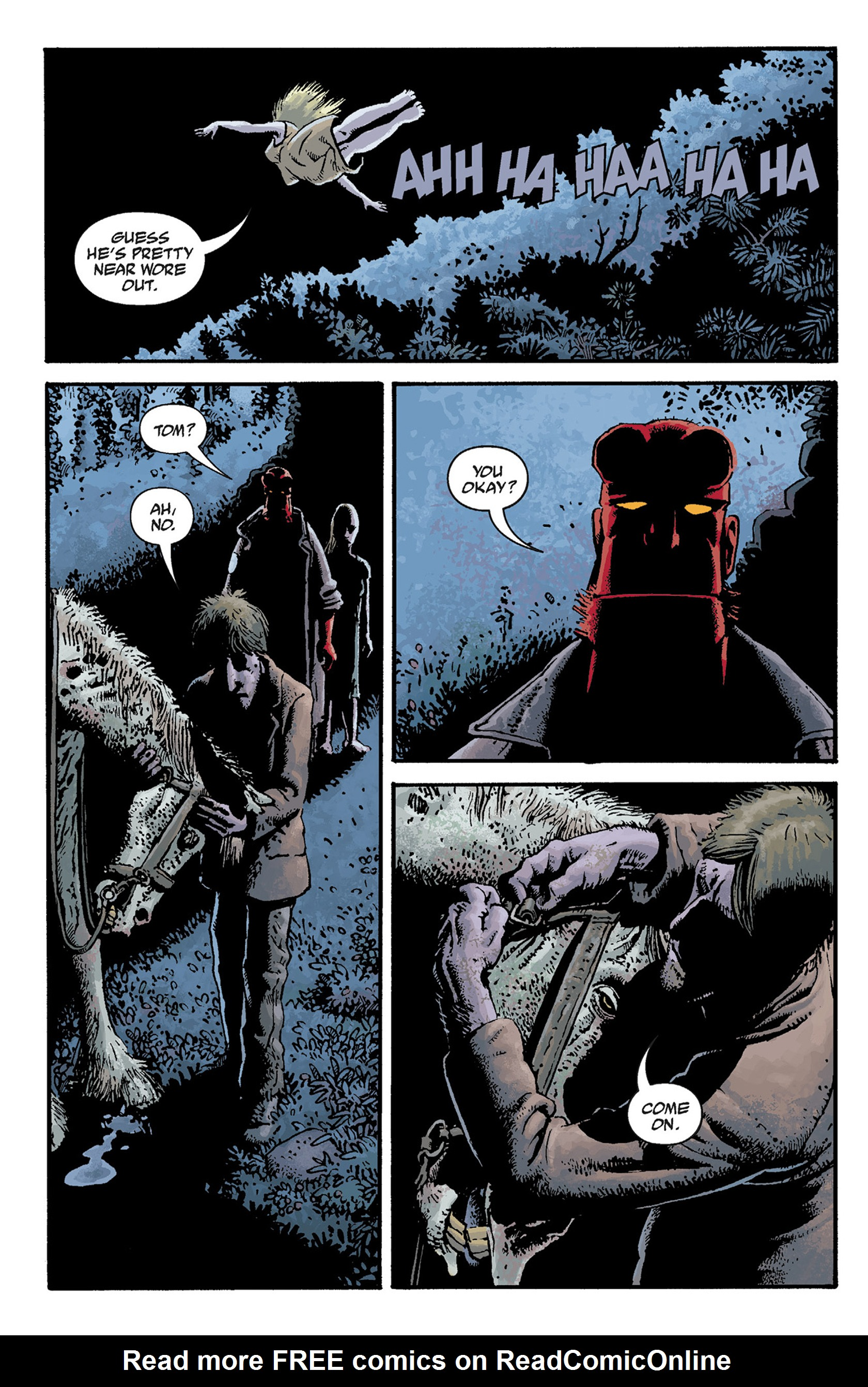Read online Hellboy: The Crooked Man and Others comic -  Issue # TPB - 30