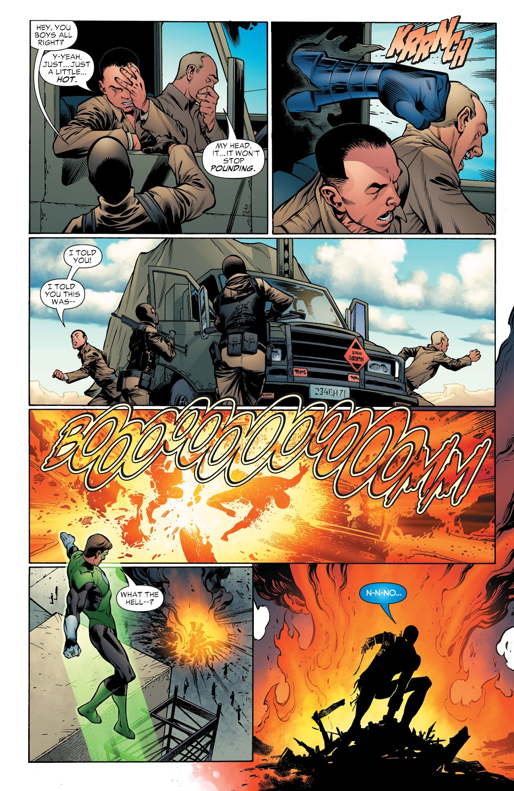 Read online Green Lantern by Geoff Johns comic -  Issue # TPB 1 (Part 4) - 37