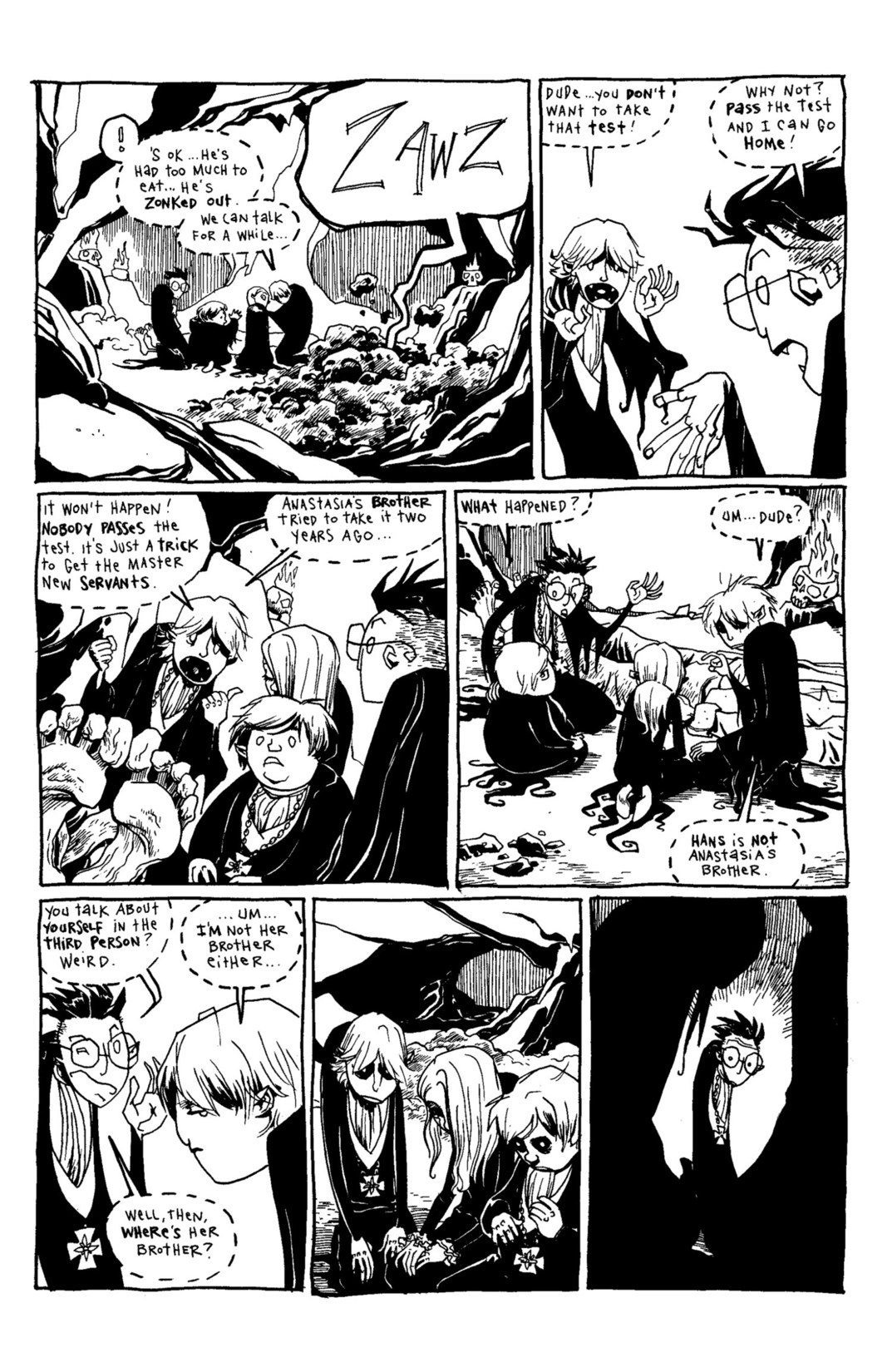 Read online Scary Godmother Comic Book Stories comic -  Issue # TPB - 191