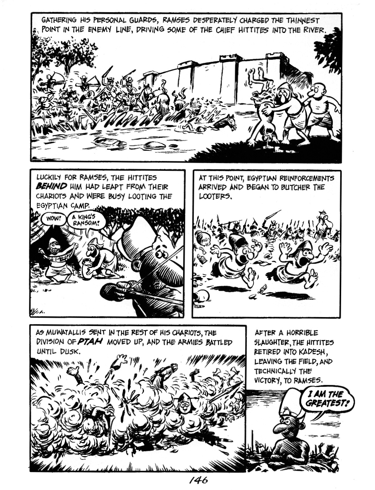 Read online The Cartoon History of the Universe comic -  Issue #3 - 46