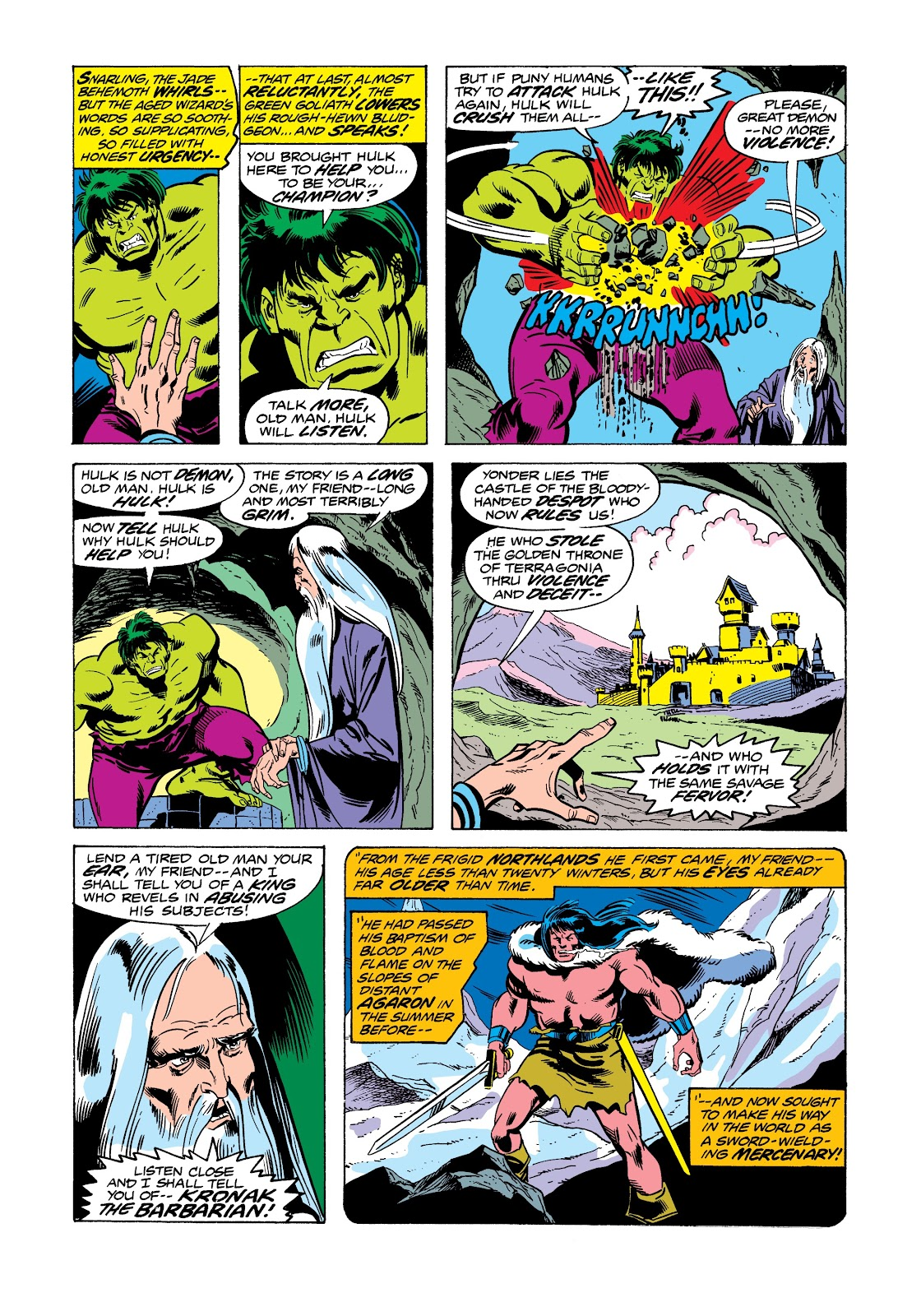 Read online Marvel Masterworks: The Incredible Hulk comic -  Issue # TPB 12 (Part 2) - 22