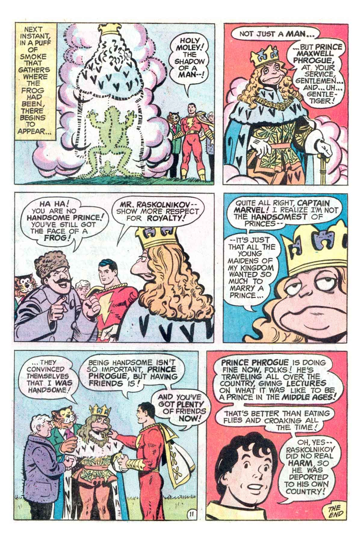 Read online Shazam! (1973) comic -  Issue #18 - 12