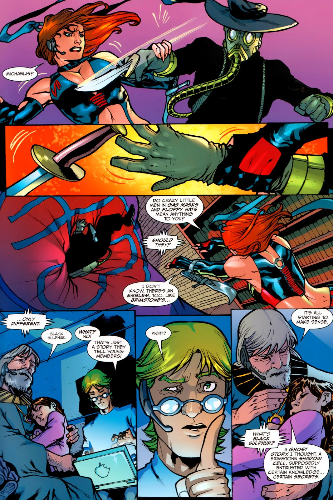 BloodRayne: Automaton issue Full - Page 16