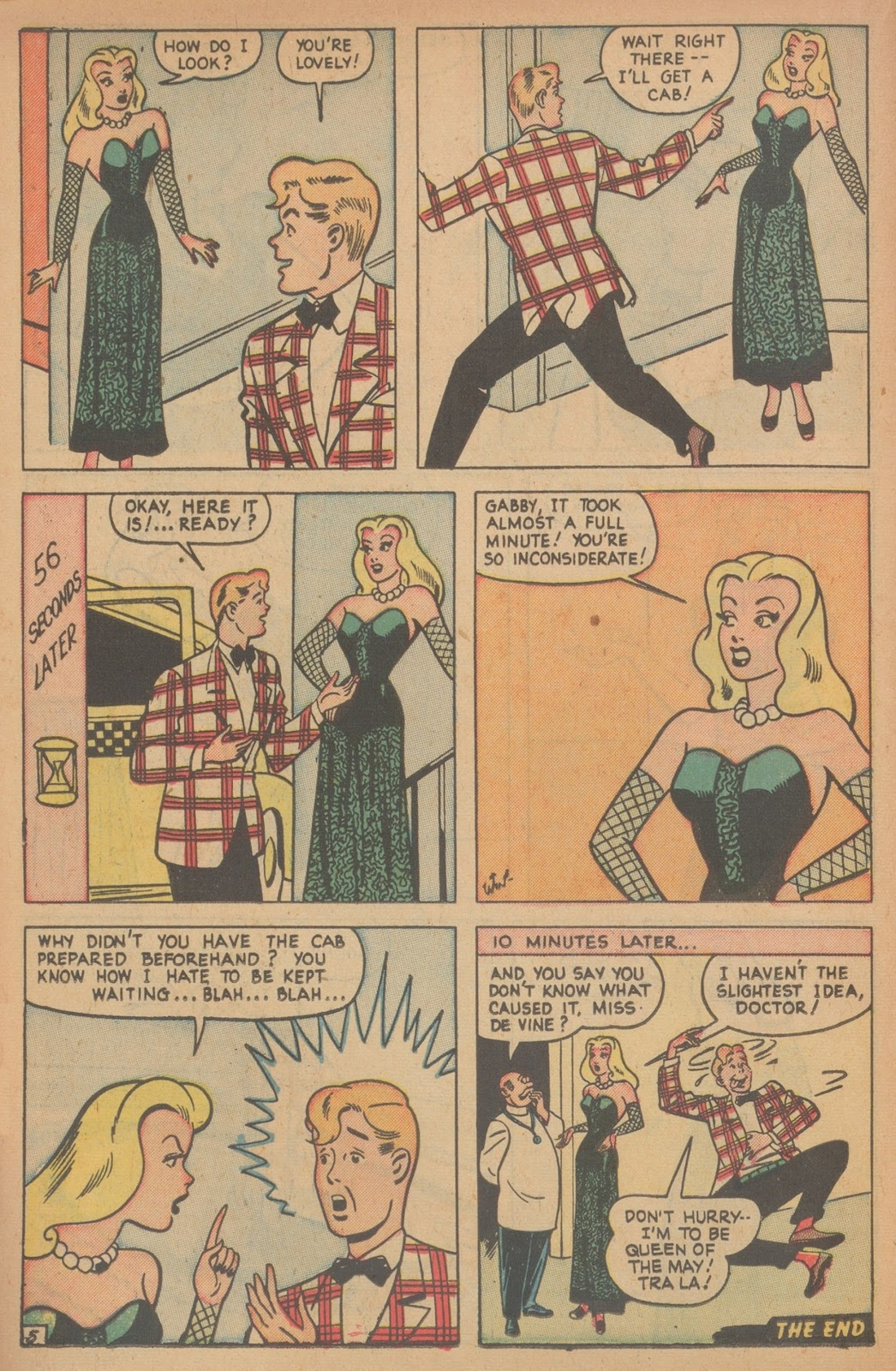 Read online Nellie The Nurse (1945) comic -  Issue #21 - 24