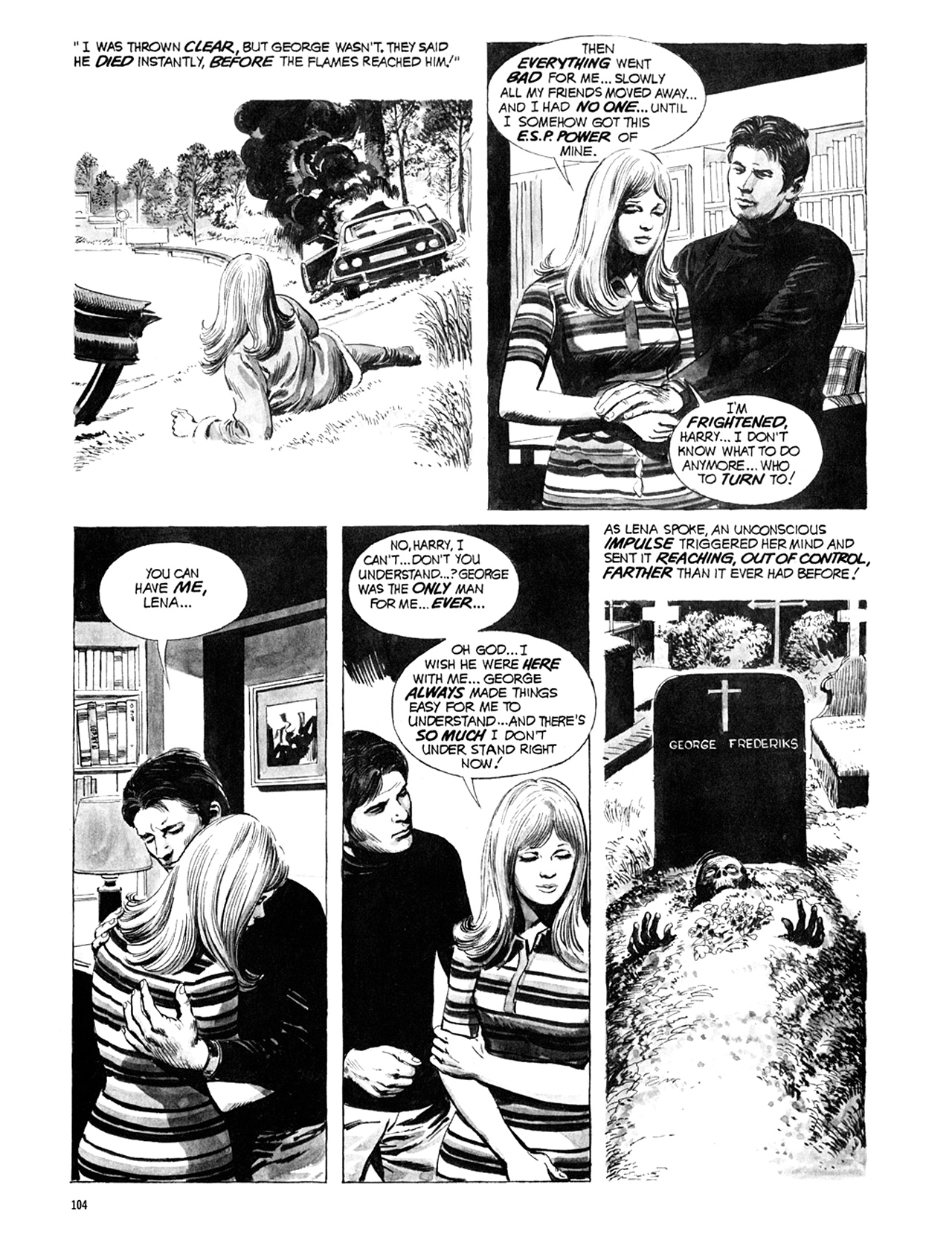 Read online Eerie Archives comic -  Issue # TPB 10 - 105
