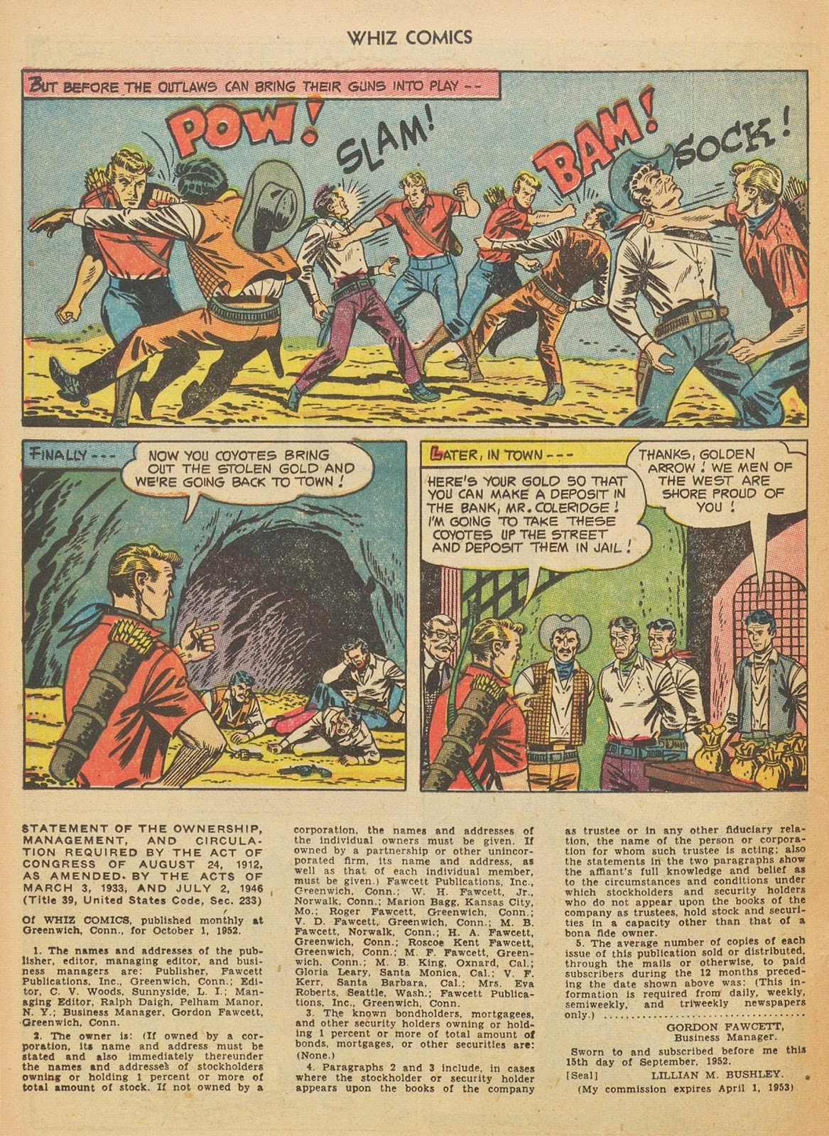 Read online WHIZ Comics comic -  Issue #153 - 24