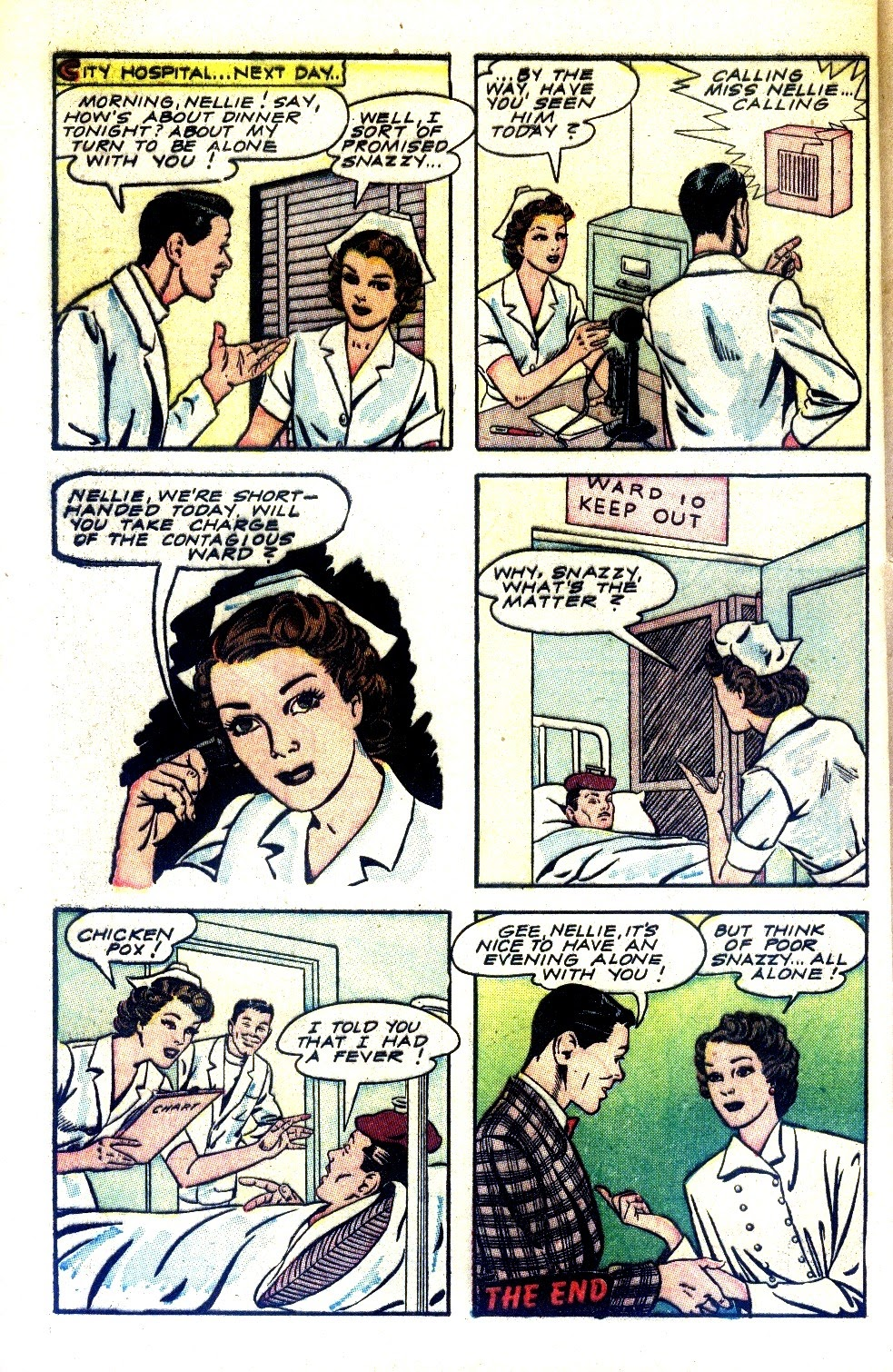Read online Nellie The Nurse (1945) comic -  Issue #2 - 40