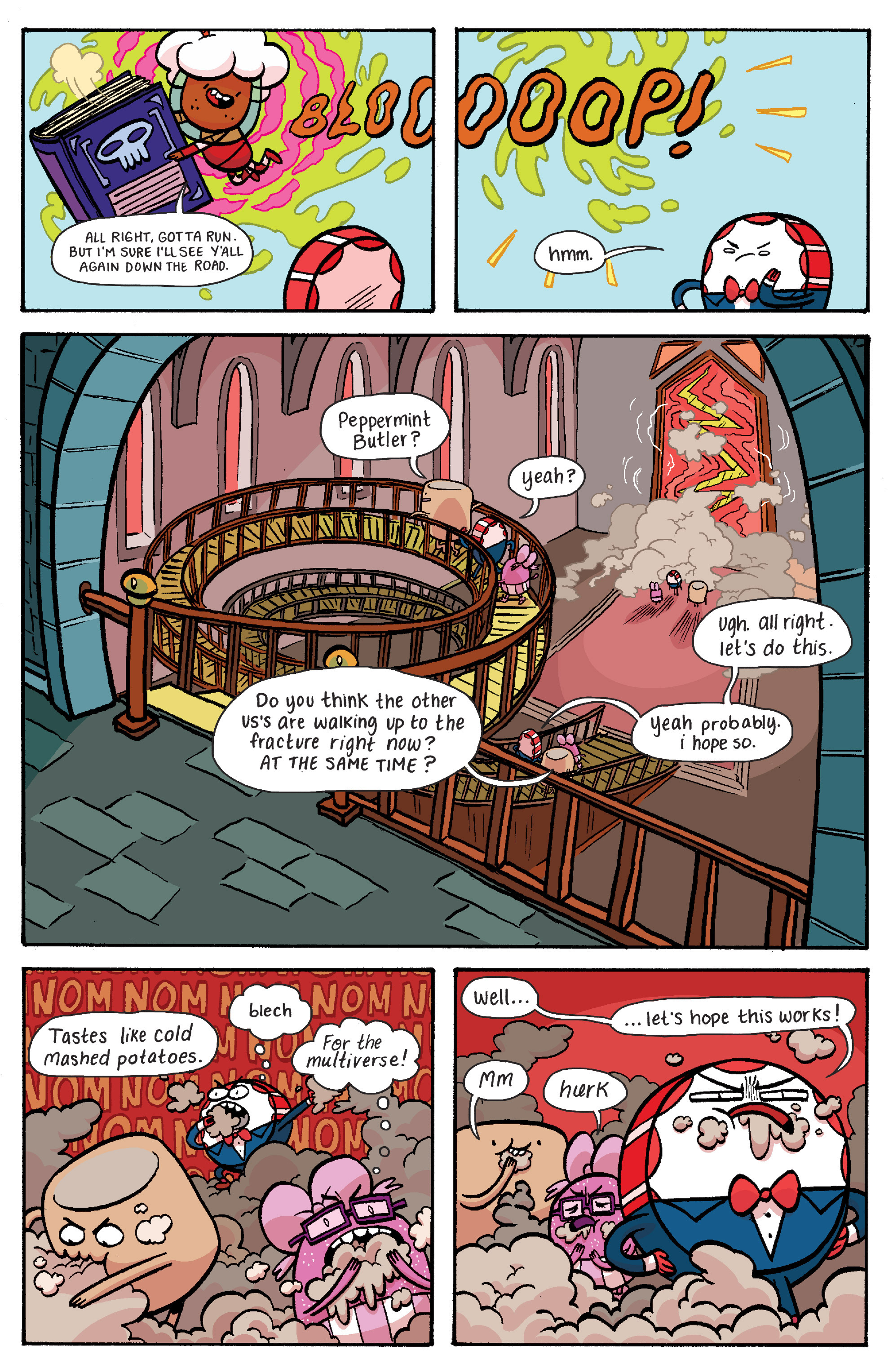 Read online Adventure Time: Banana Guard Academ comic -  Issue #5 - 11