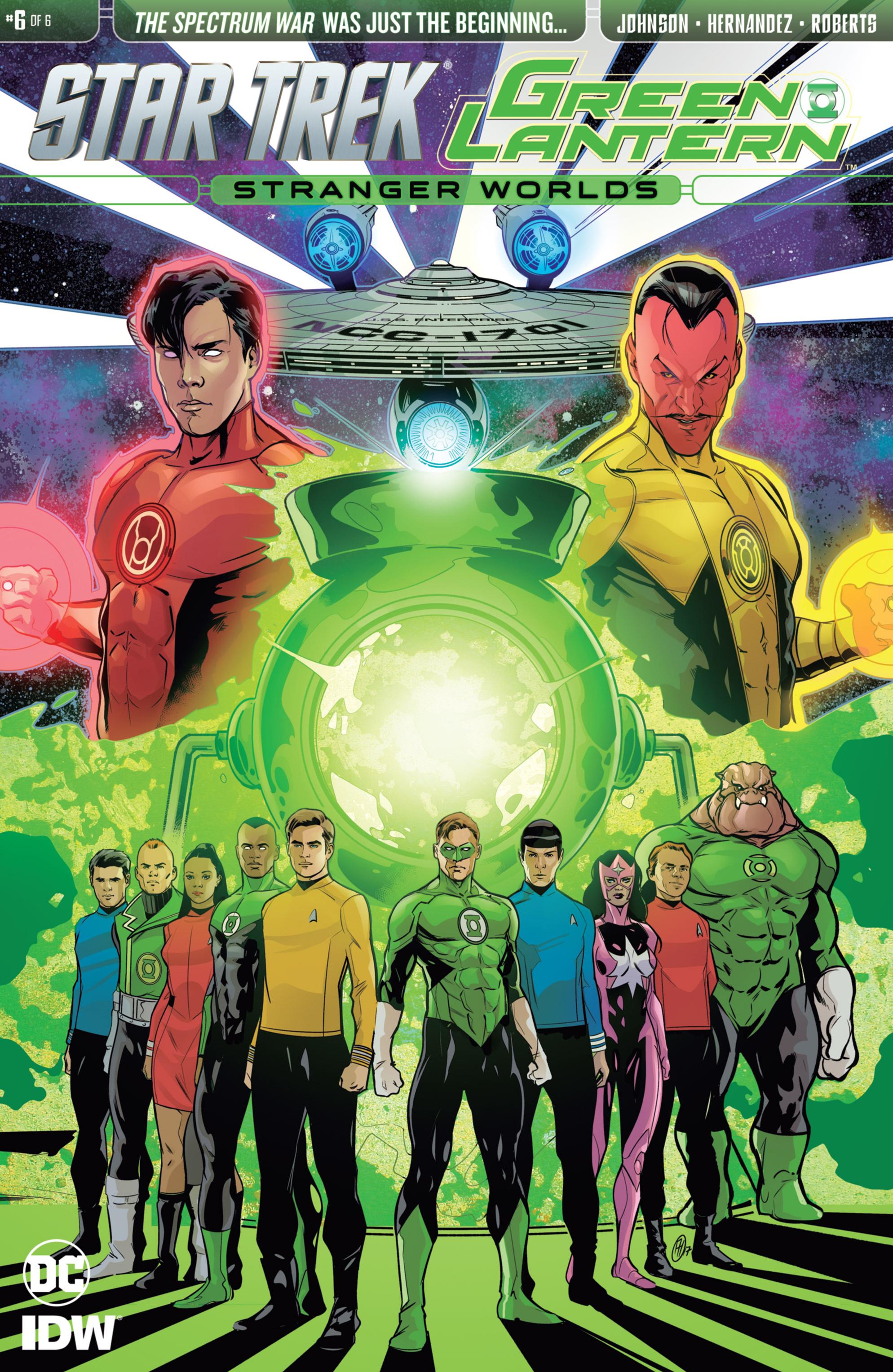 Read online Star Trek/Green Lantern (2016) comic -  Issue #6 - 1