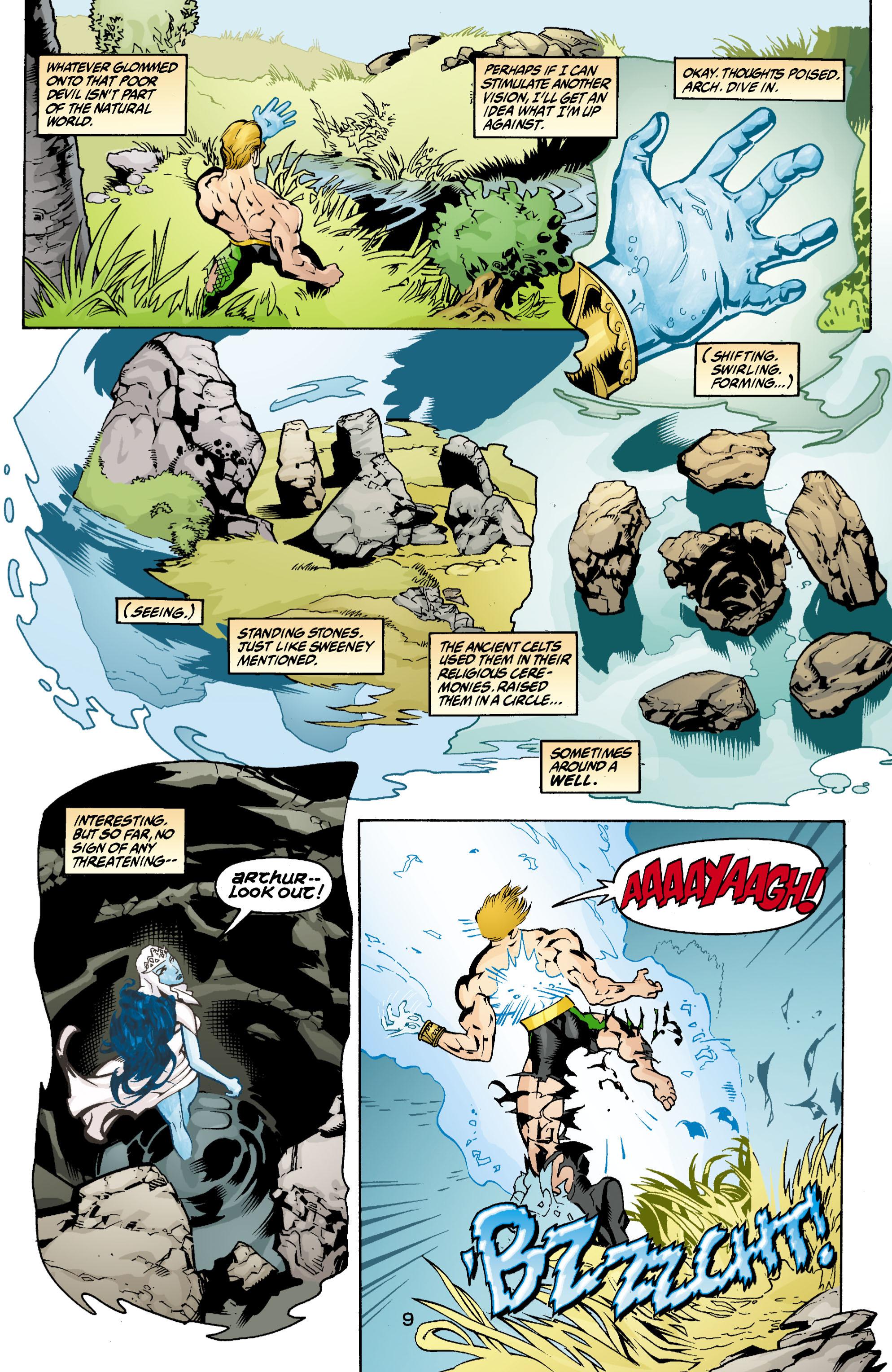 Read online Aquaman (2003) comic -  Issue #3 - 9