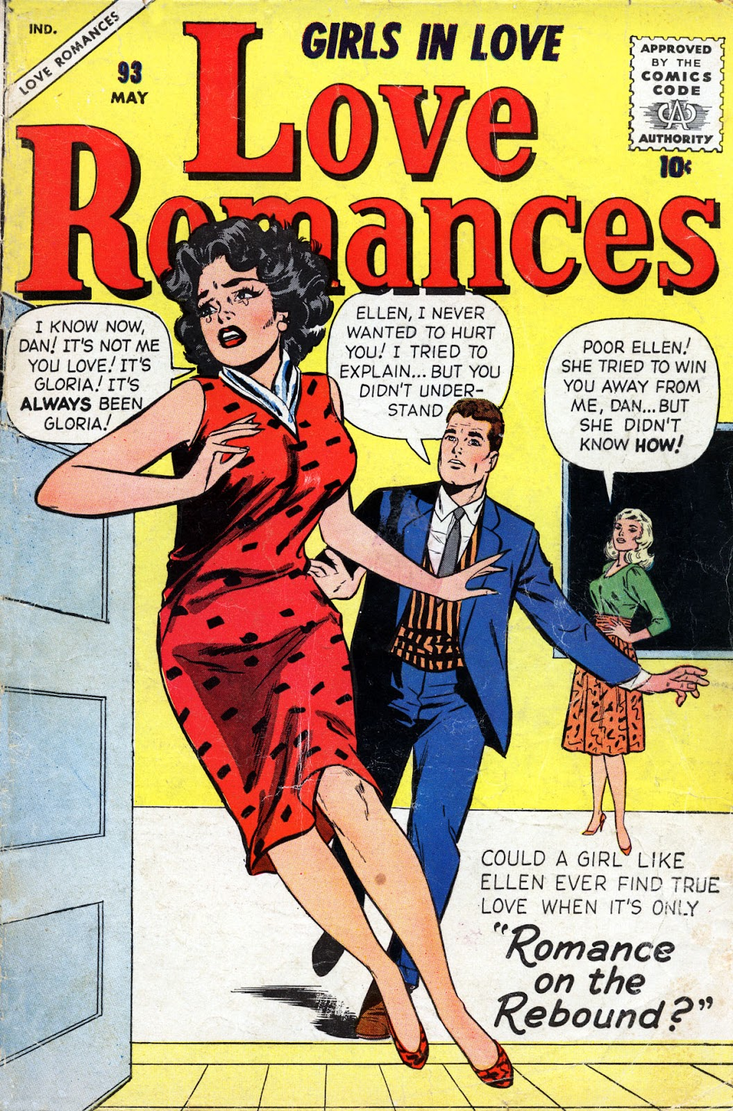Love Romances (1949) issue 93 - Page 1