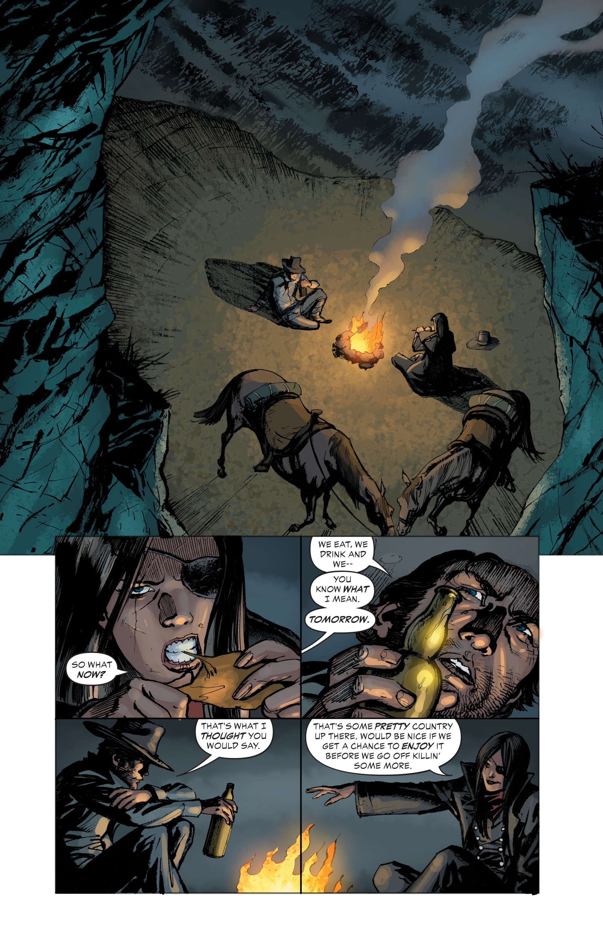 Read online All-Star Western (2011) comic -  Issue #33 - 22