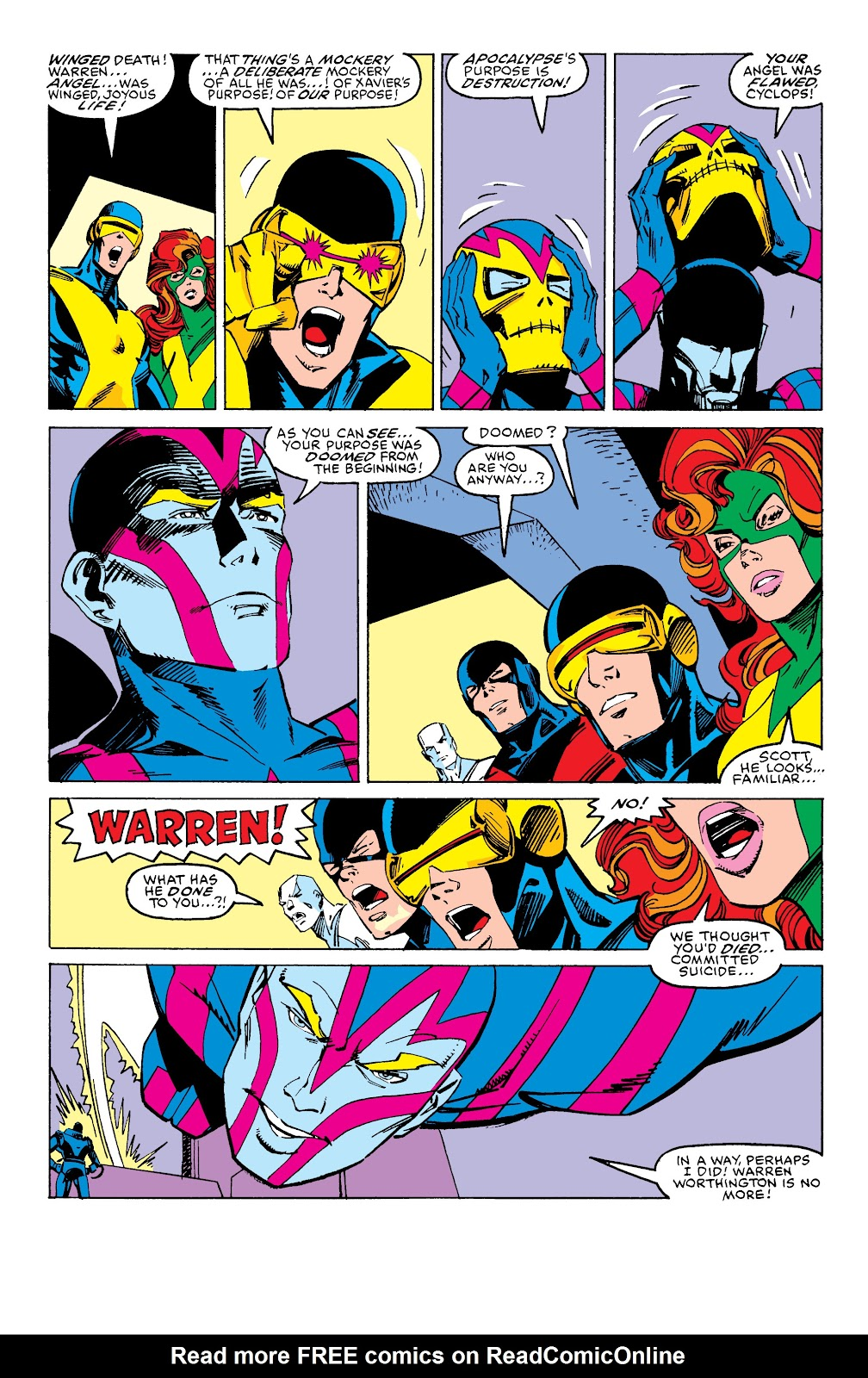 Read online X-Men Milestones: Fall of the Mutants comic -  Issue # TPB (Part 2) - 97