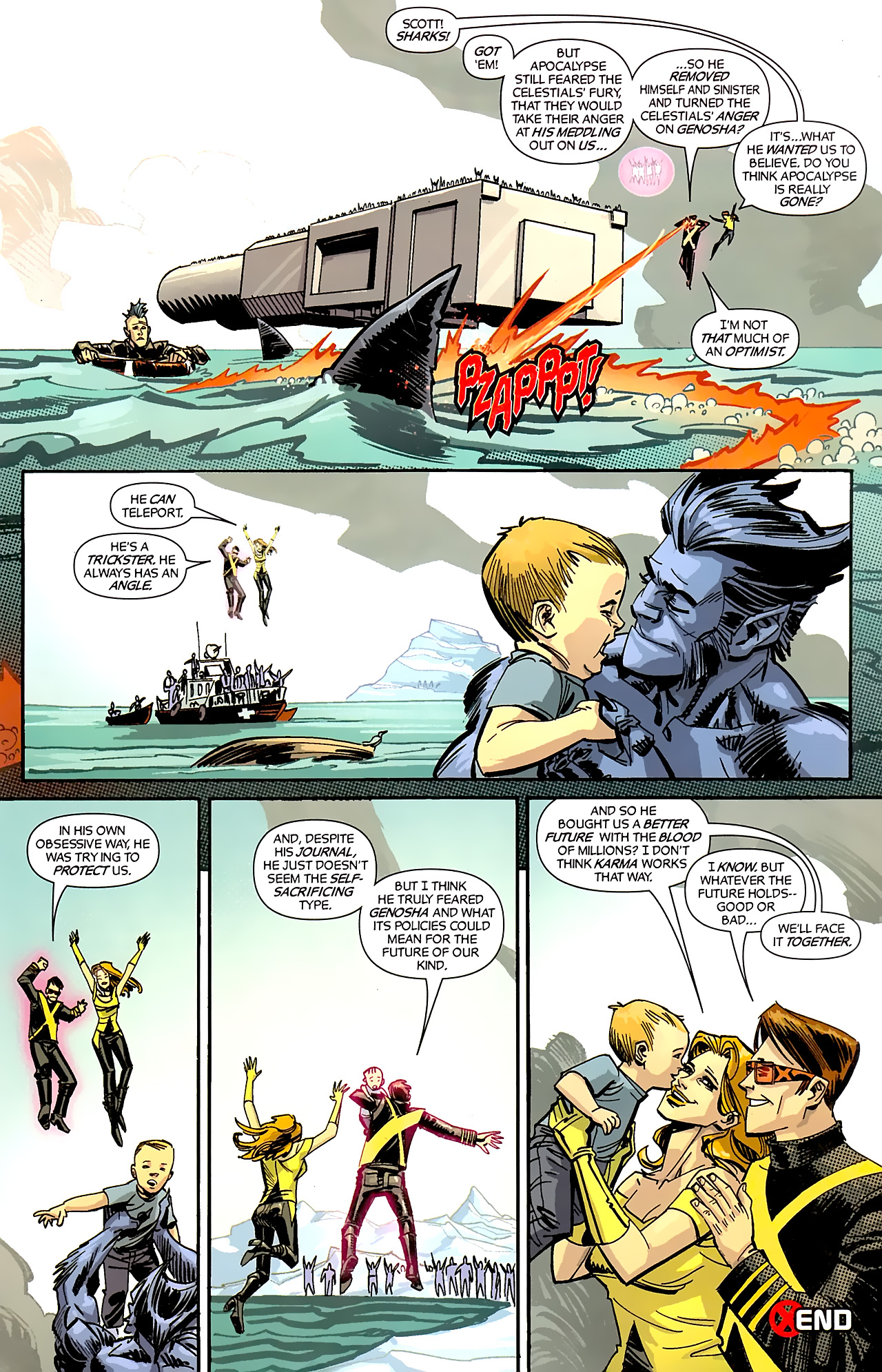 Read online X-Factor Forever comic -  Issue #5 - 19