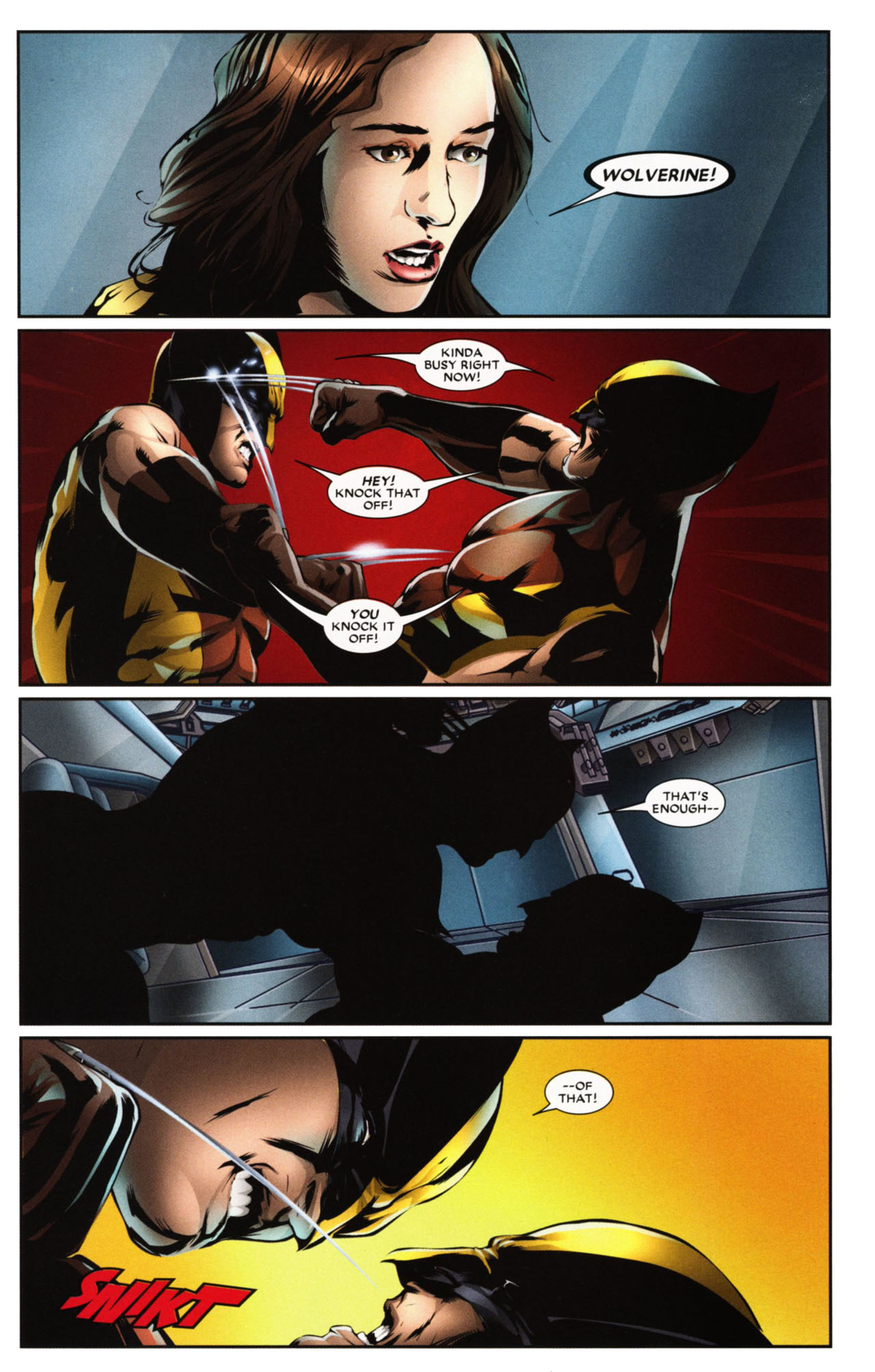 Read online Wolverine: First Class comic -  Issue #20 - 17