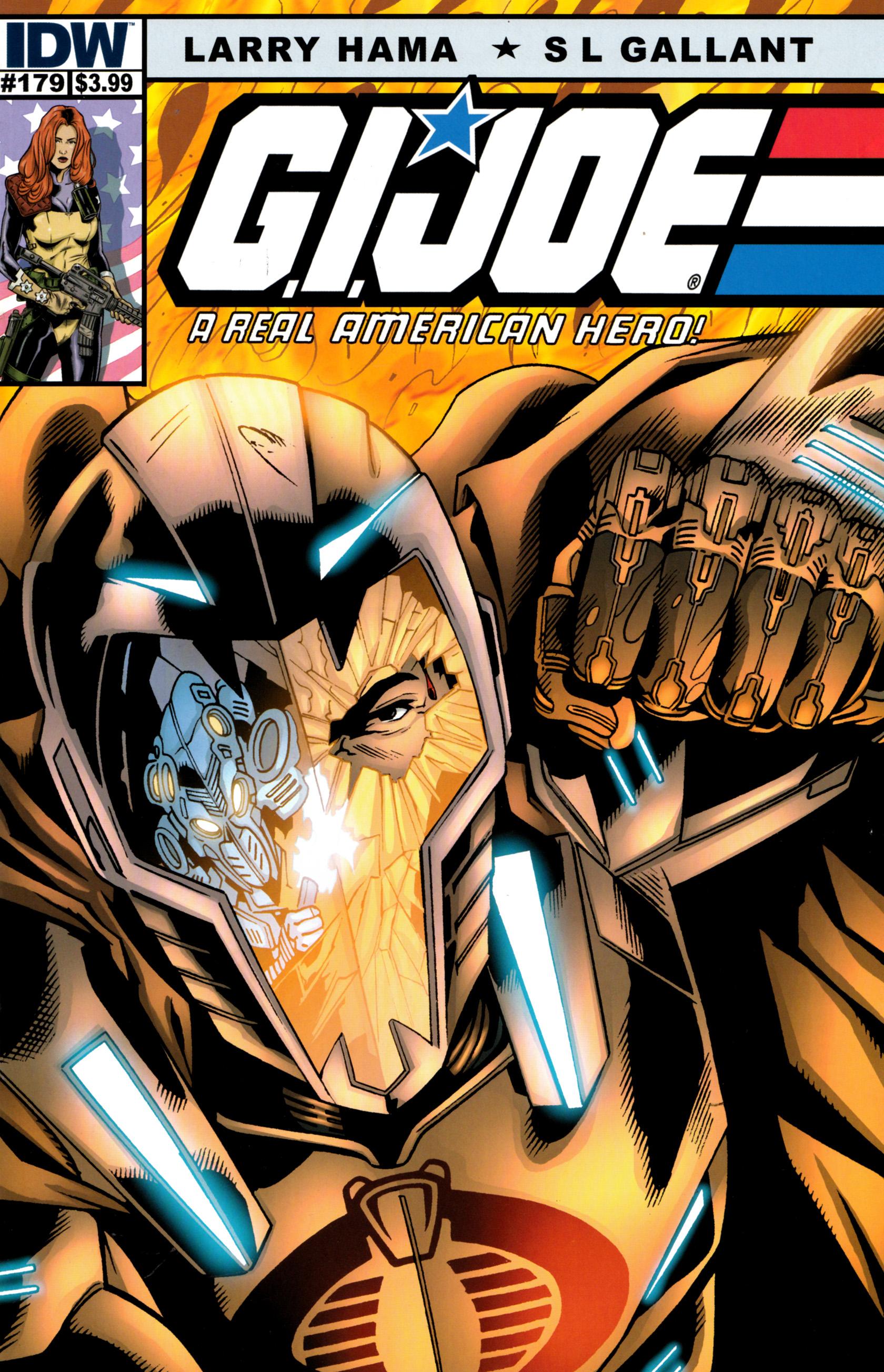 G.I. Joe: A Real American Hero 179 Page 1