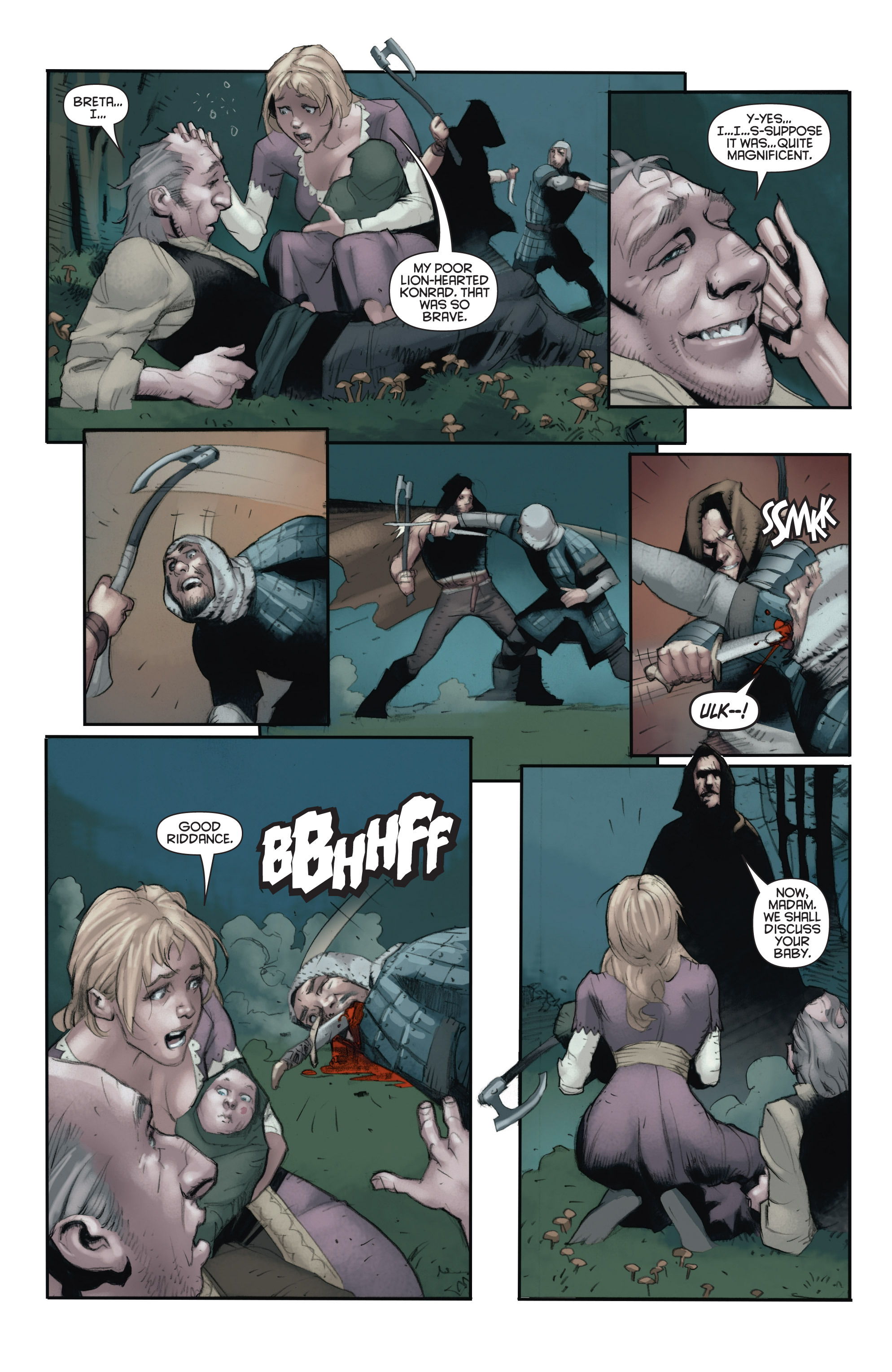 Read online Eternal Warrior: Days of Steel comic -  Issue #2 - 5