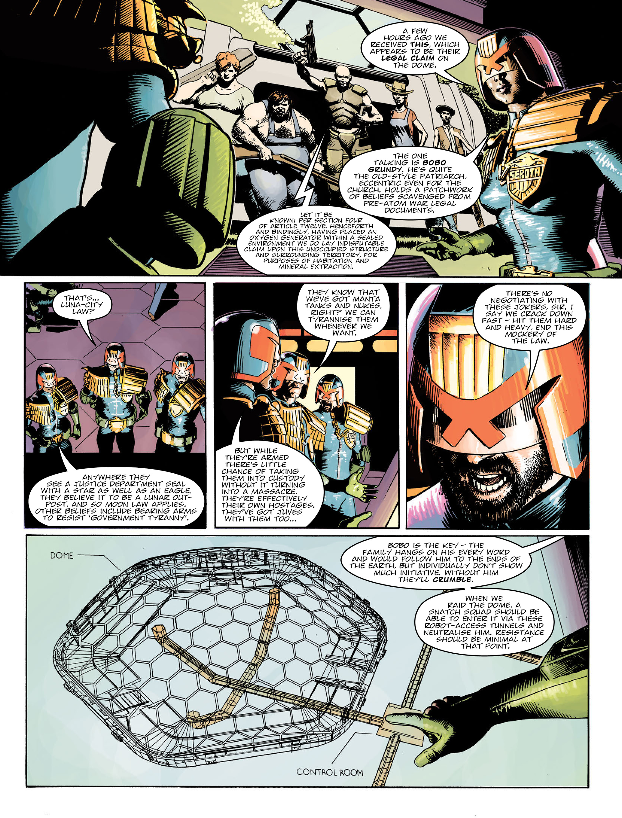 Read online 2000 AD comic -  Issue #2022 - 5