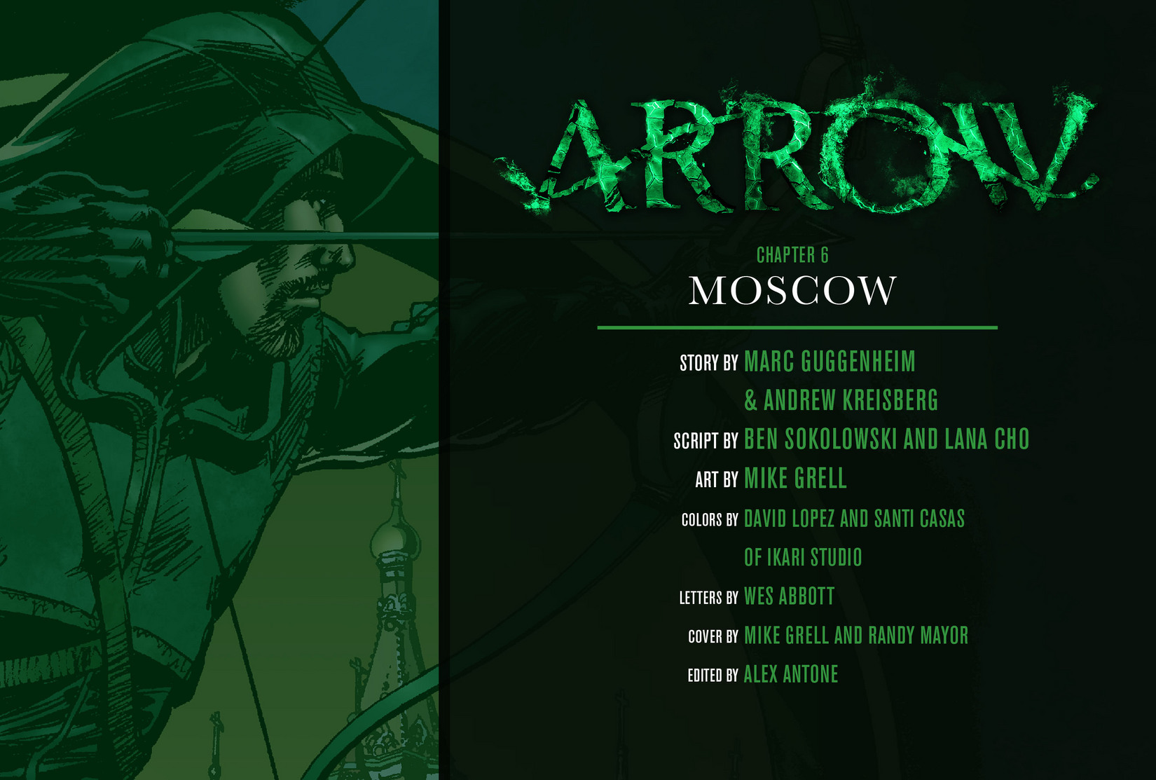 Read online Arrow [II] comic -  Issue #6 - 2