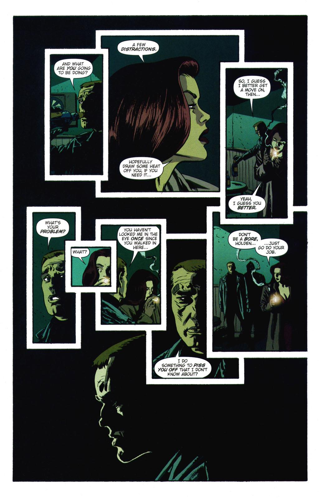 Read online Sleeper comic -  Issue #9 - 15