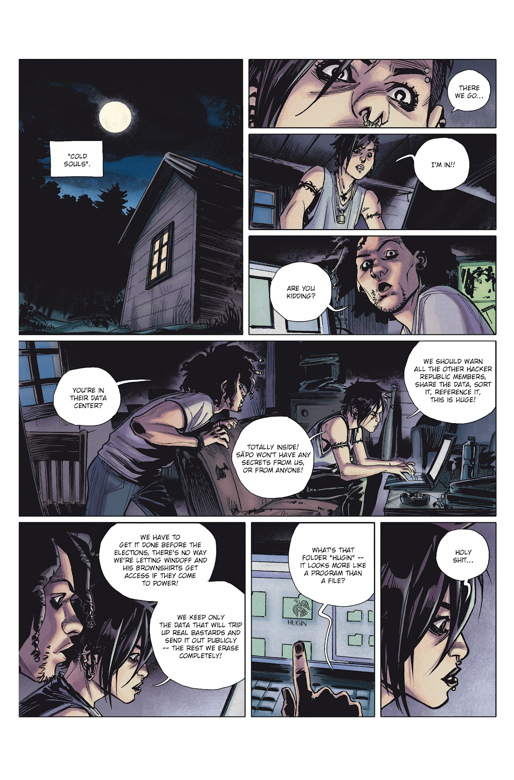 Read online Millennium: The Girl Who Danced With Death comic -  Issue #1 - 34