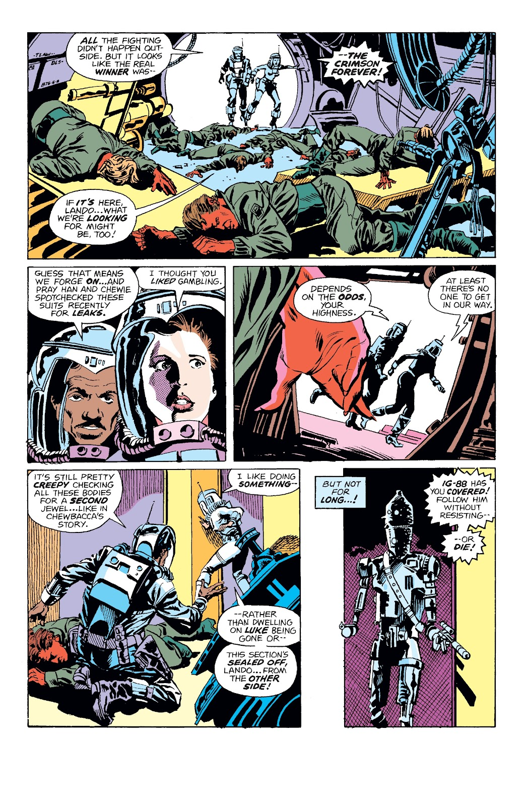 Read online Star Wars Legends: The Original Marvel Years - Epic Collection comic -  Issue # TPB 3 (Part 3) - 61