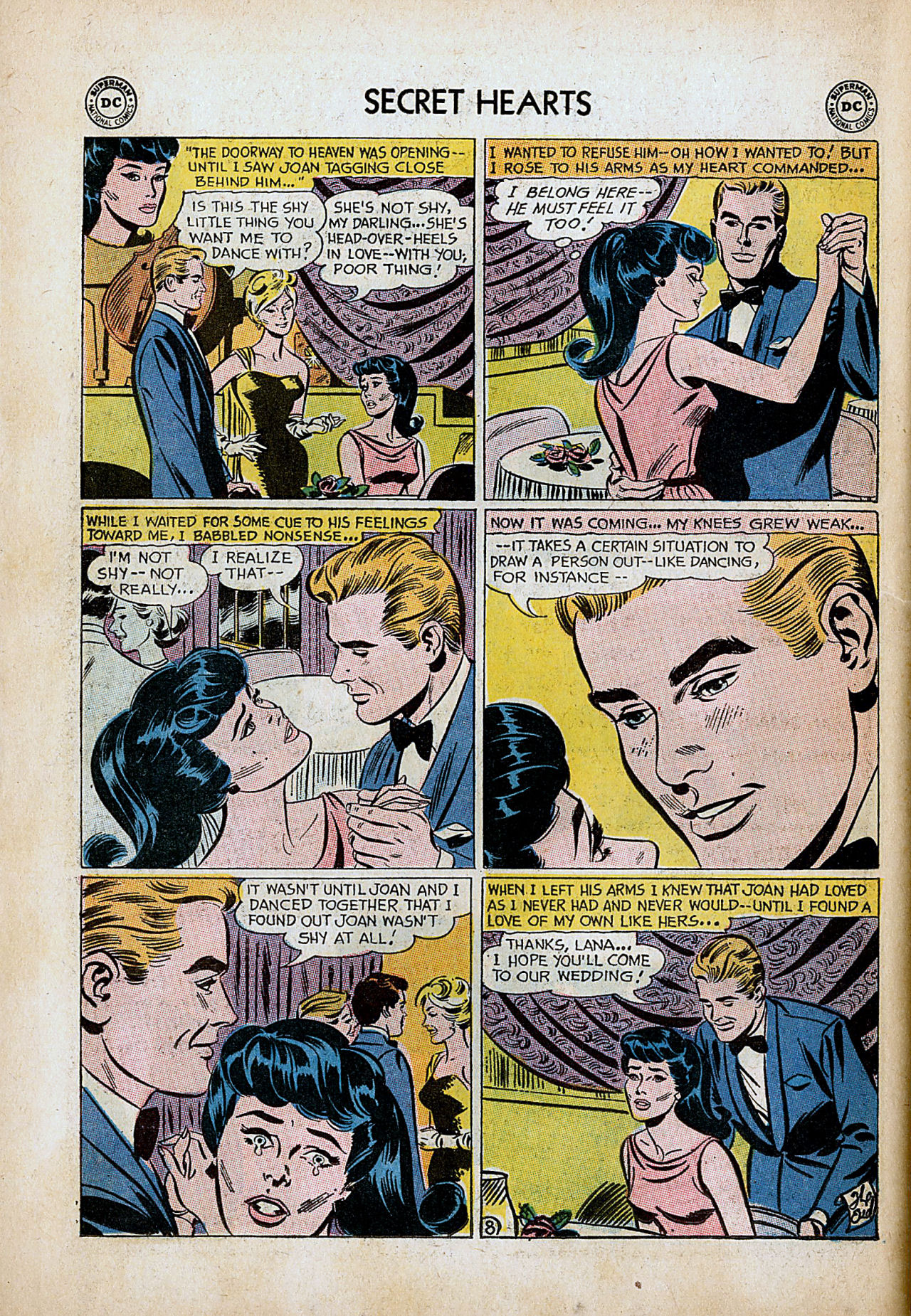 Read online Secret Hearts comic -  Issue #86 - 34