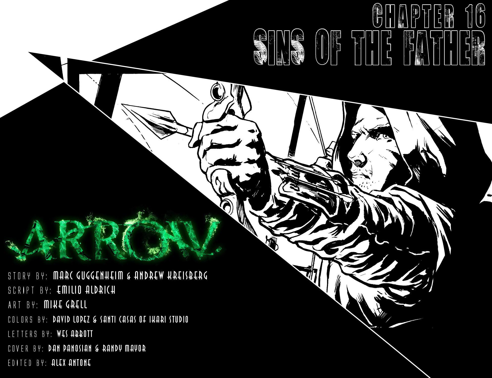 Read online Arrow [II] comic -  Issue #16 - 2