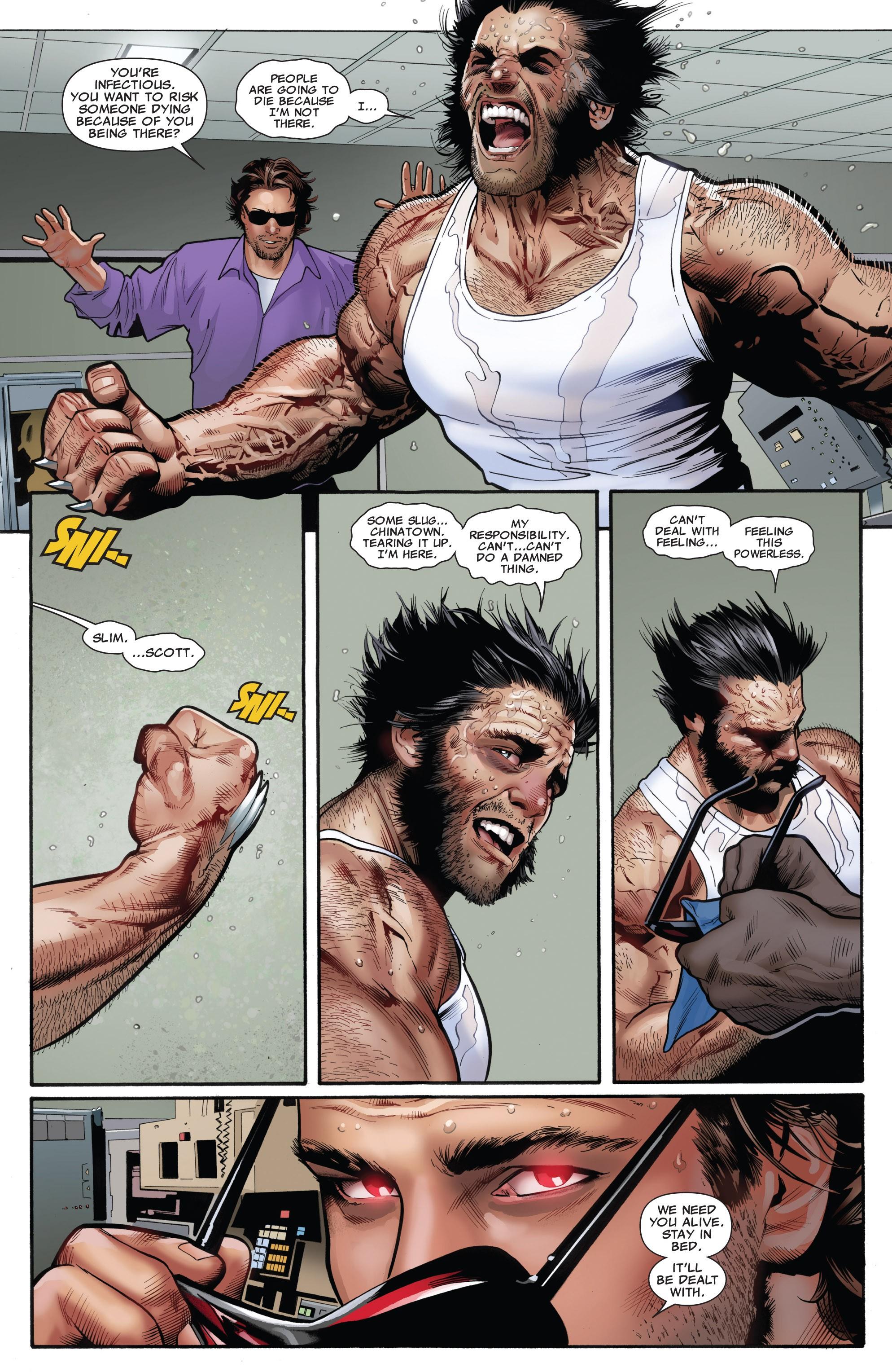 Read online Uncanny X-Men (1963) comic -  Issue #531 - 9