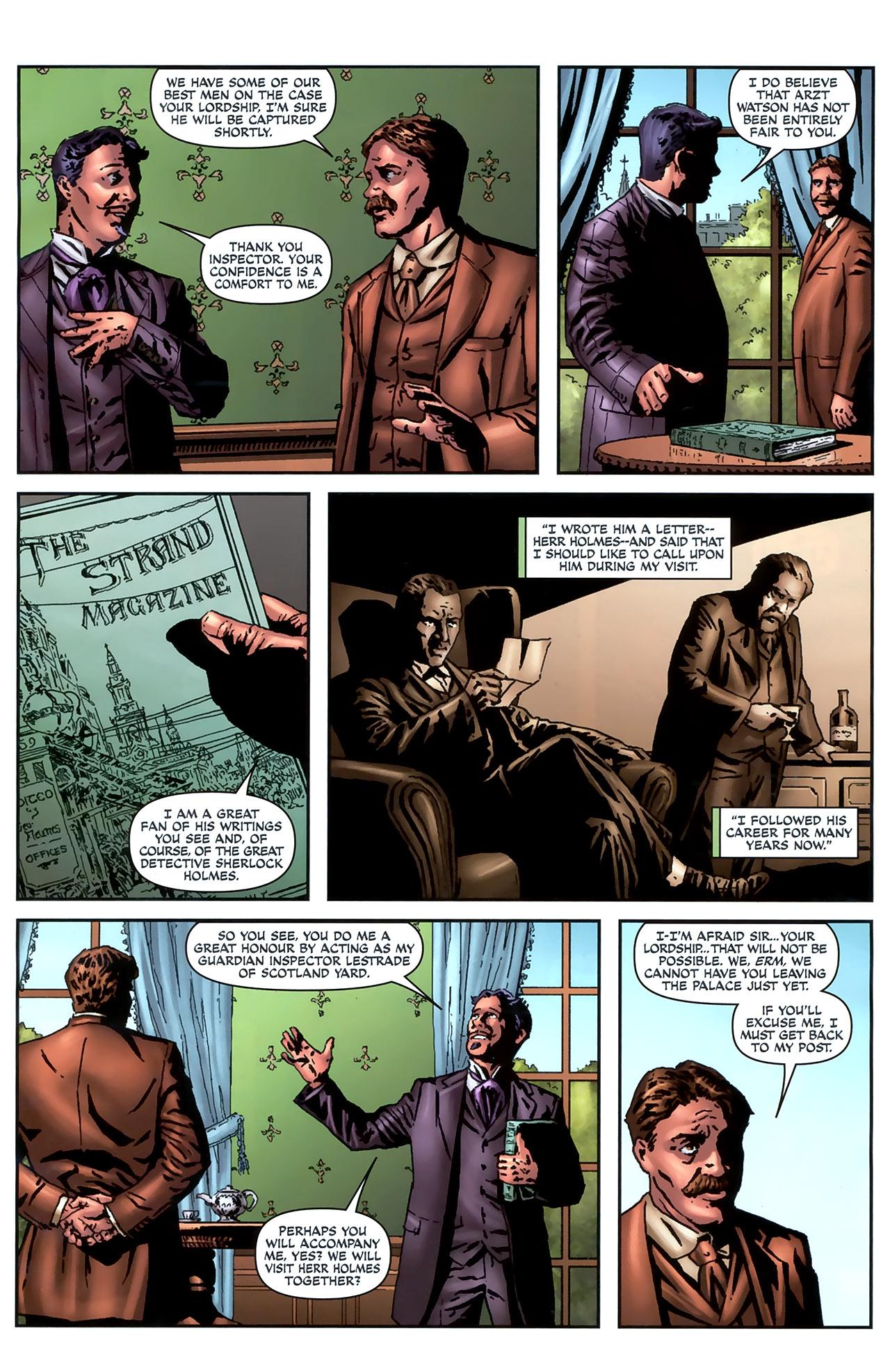 Read online Sherlock Holmes (2009) comic -  Issue #4 - 9