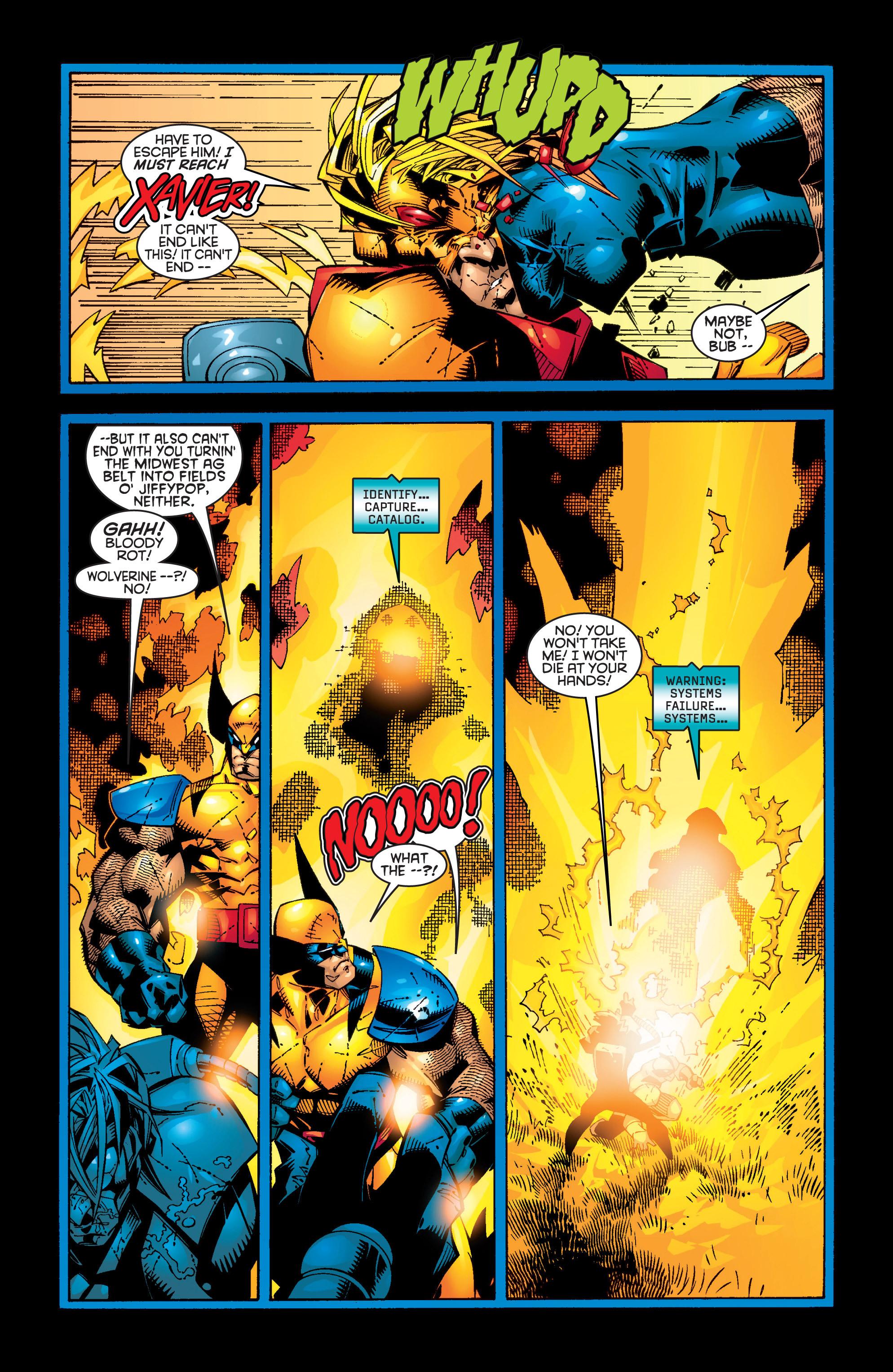 Read online Uncanny X-Men (1963) comic -  Issue #362 - 18